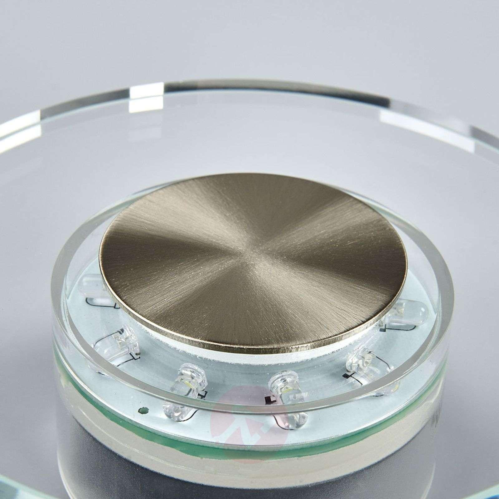 Tehokas LED-ulkoseinävalaisin DANA, pyöreä-4014242-01