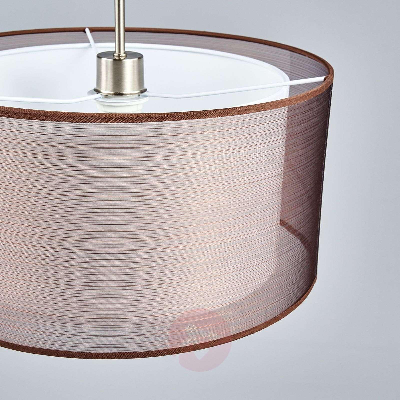Tekstiilikattovalaisin Nica, ruskea-4018004-03