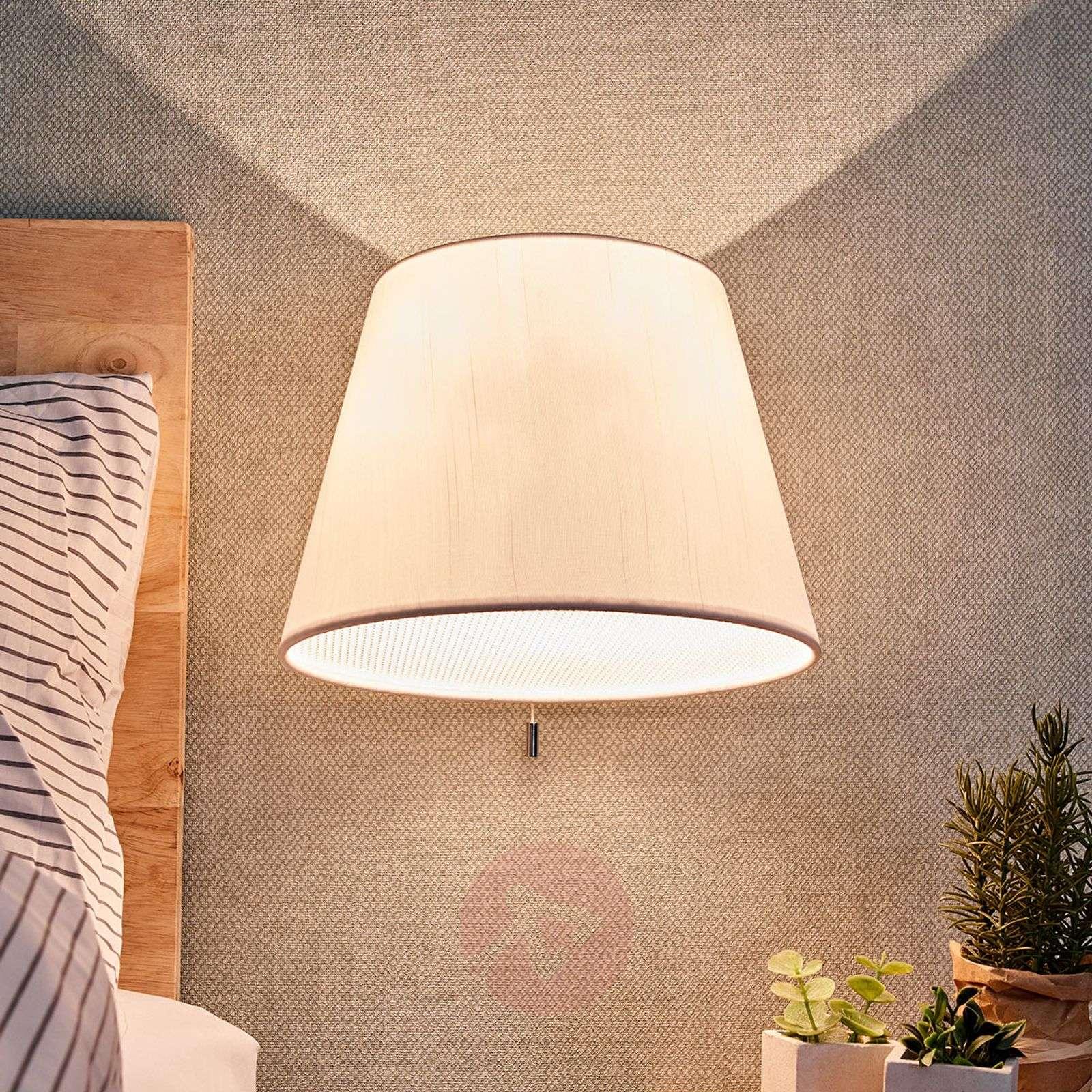 Tekstiilinen LED-seinävalaisin Marella, kytkin-9976080-02