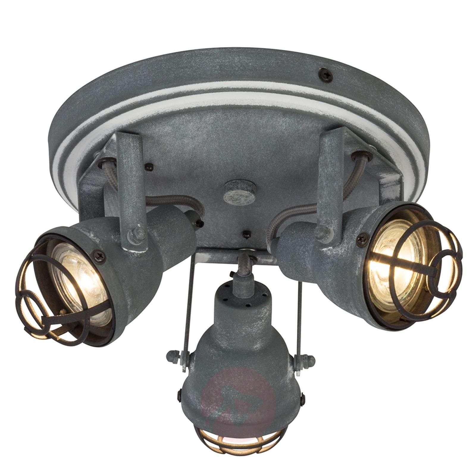 Teollinen design – 3-os. Bente-LED-kattovalaisin-1509125-01