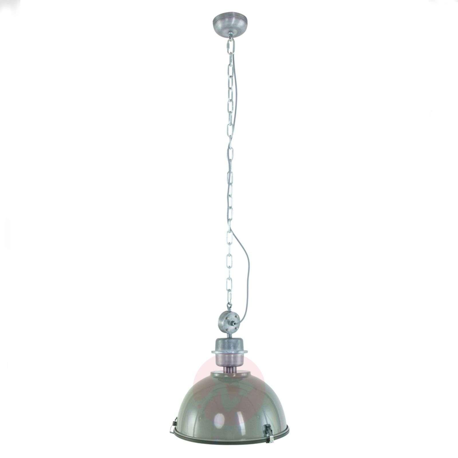 Teollistyylinen Bikkel-riippuvalaisin, oliivi-8509693-01