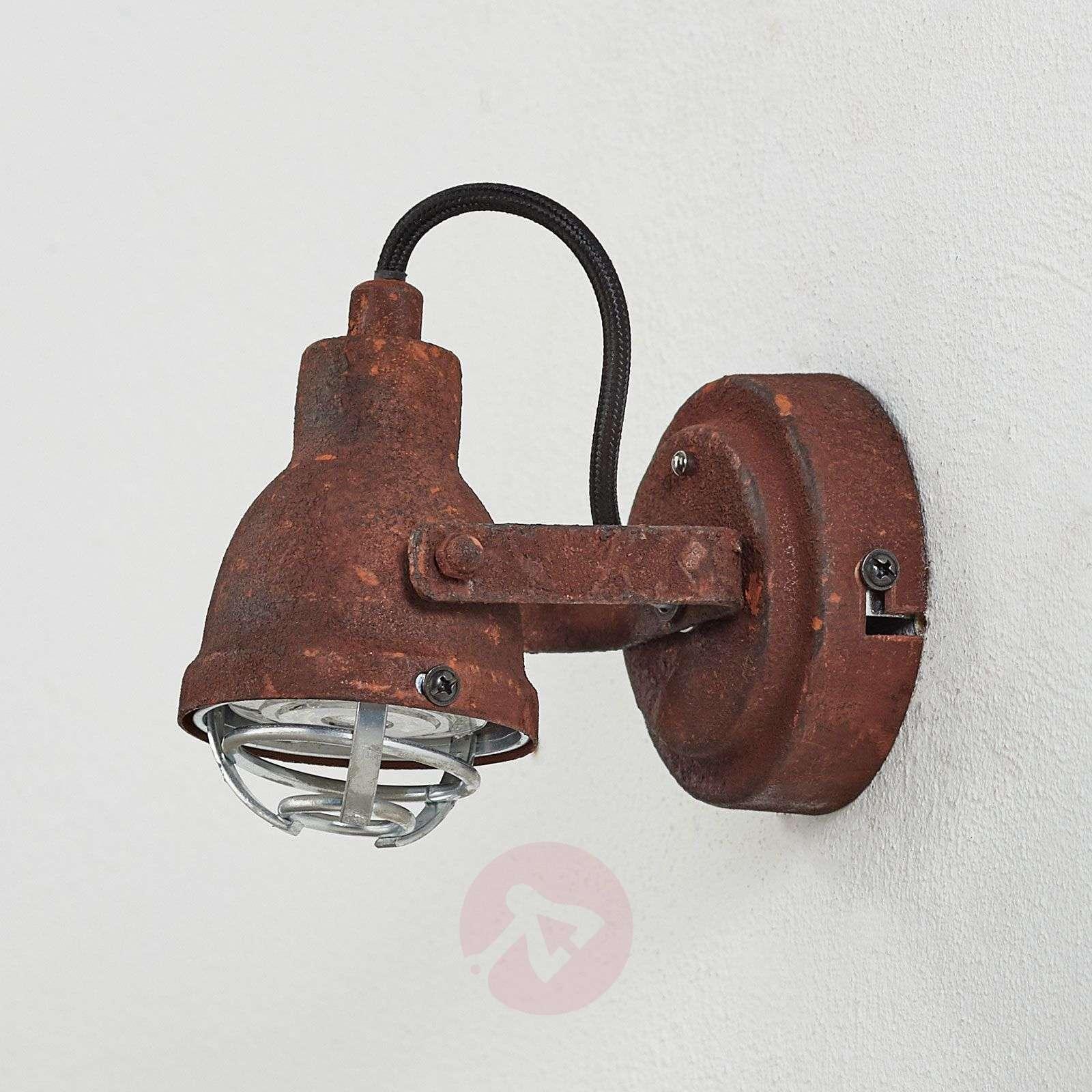 Teollisuustyylinen Bente-seinävalaisin-1509323-01