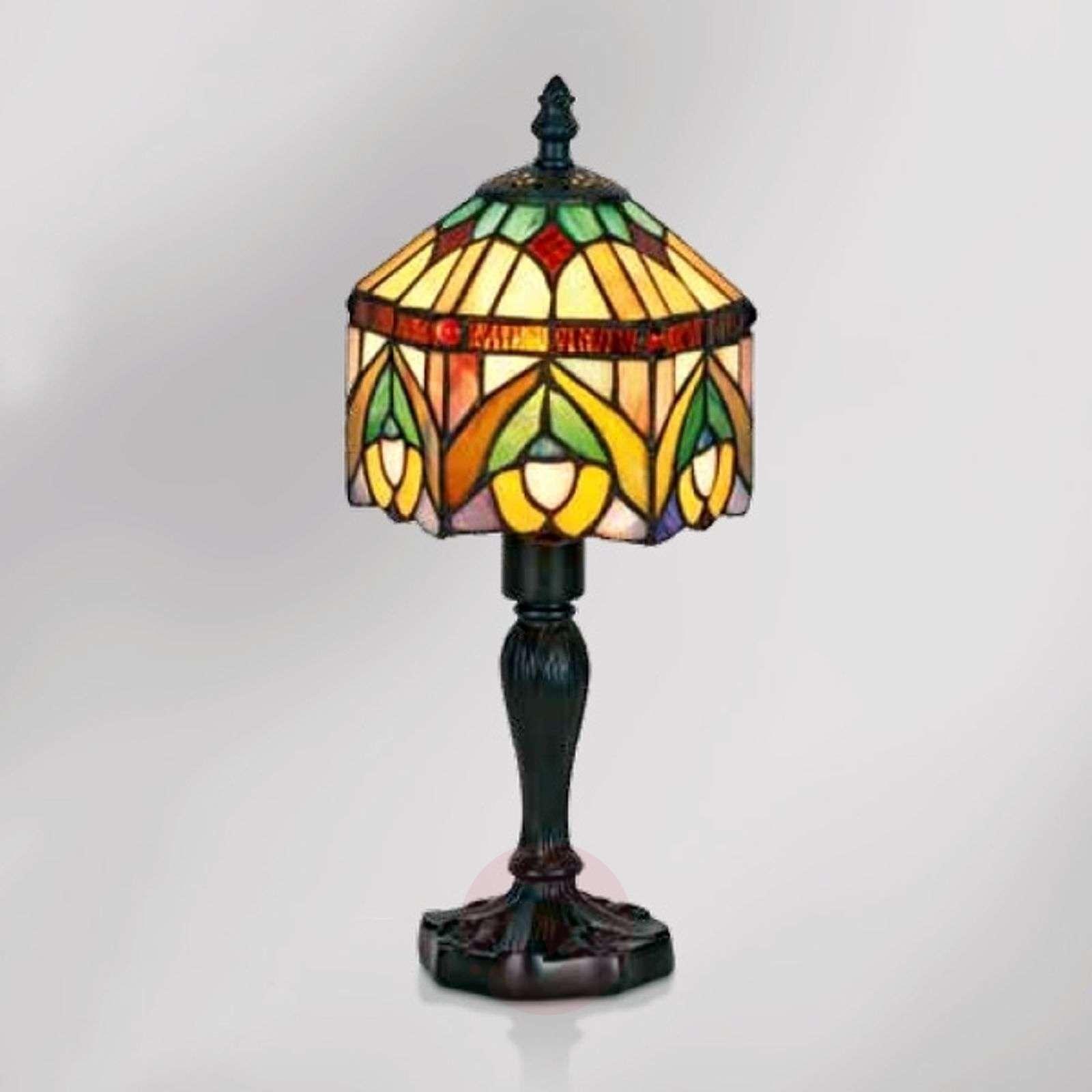 Tiffany-koristeinen Jamilia-pöytävalaisin-1032267-01