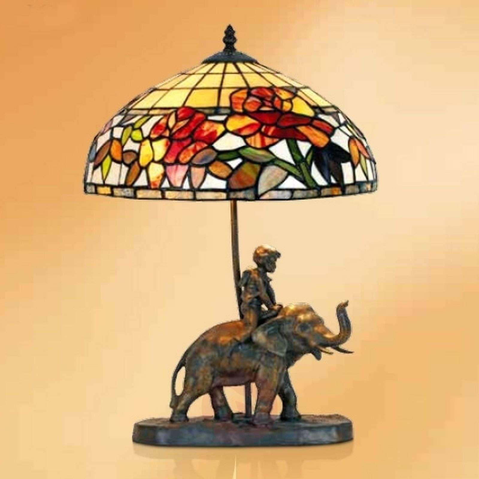 Tiffany-koristeinen Samira-pöytävalaisin-1032298-01