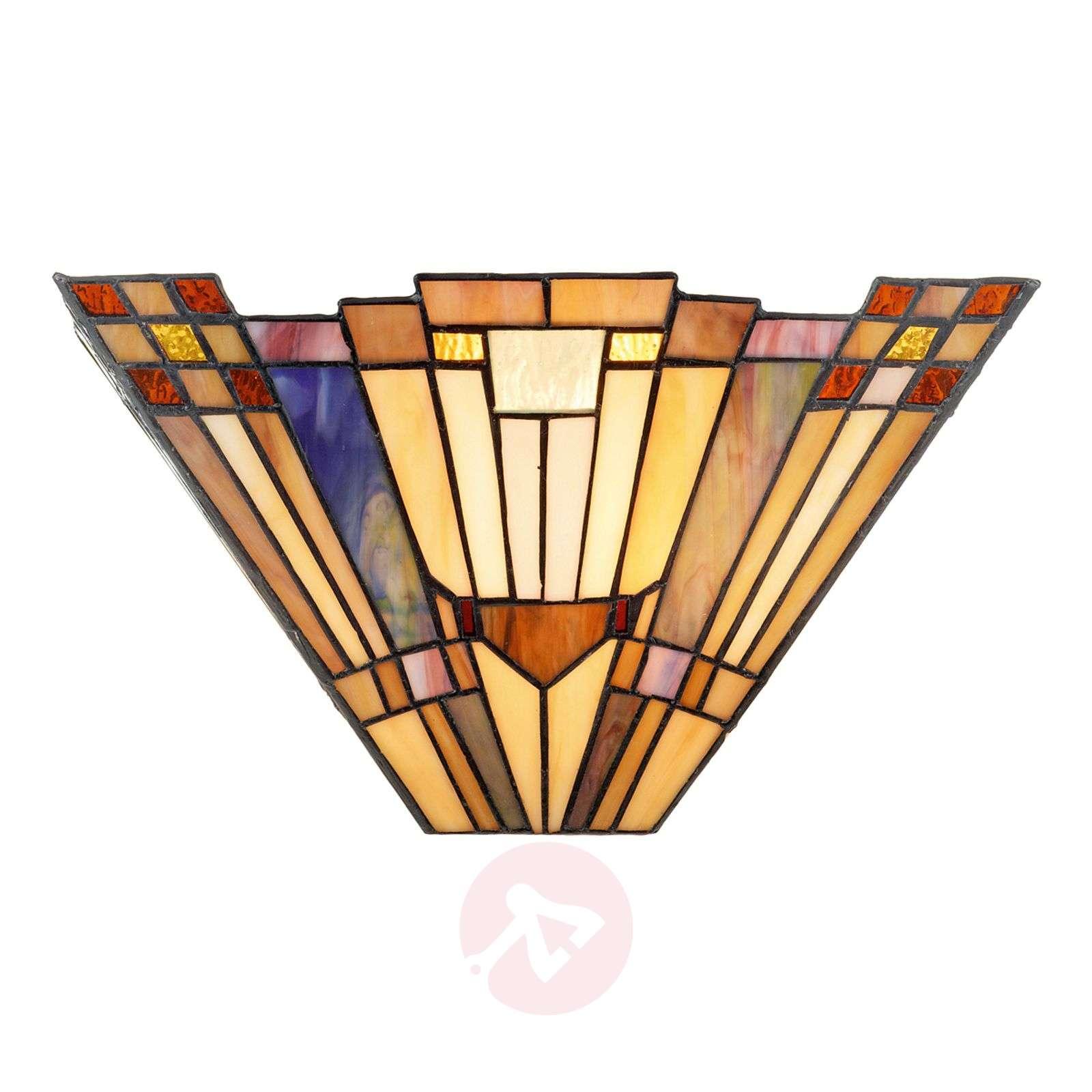 Tiffany-tyyliin toteutettu Esmea-seinävalaisin-1032340-01