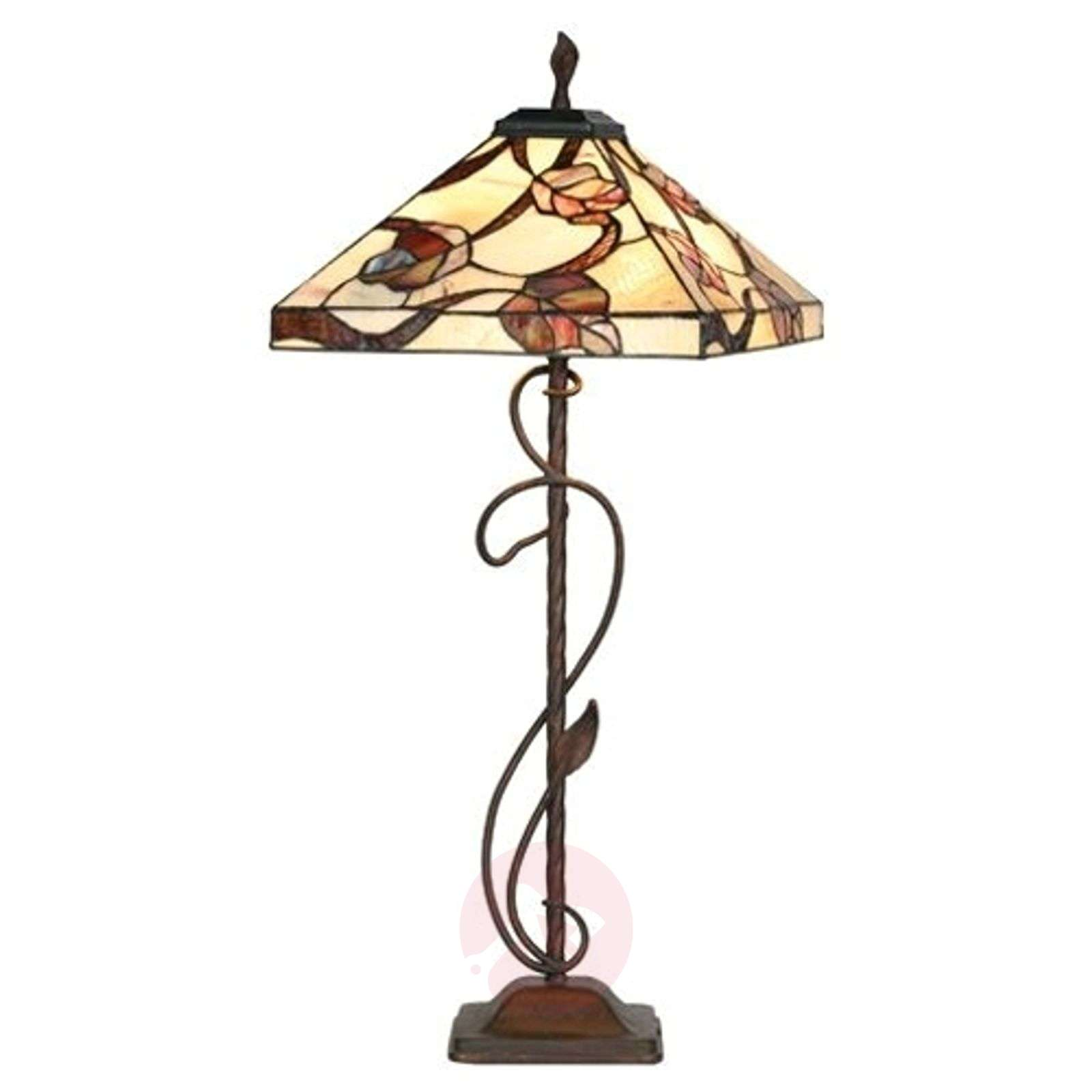 Tiffany-tyylinen Appolonia-lattiavalaisin-1032135-01