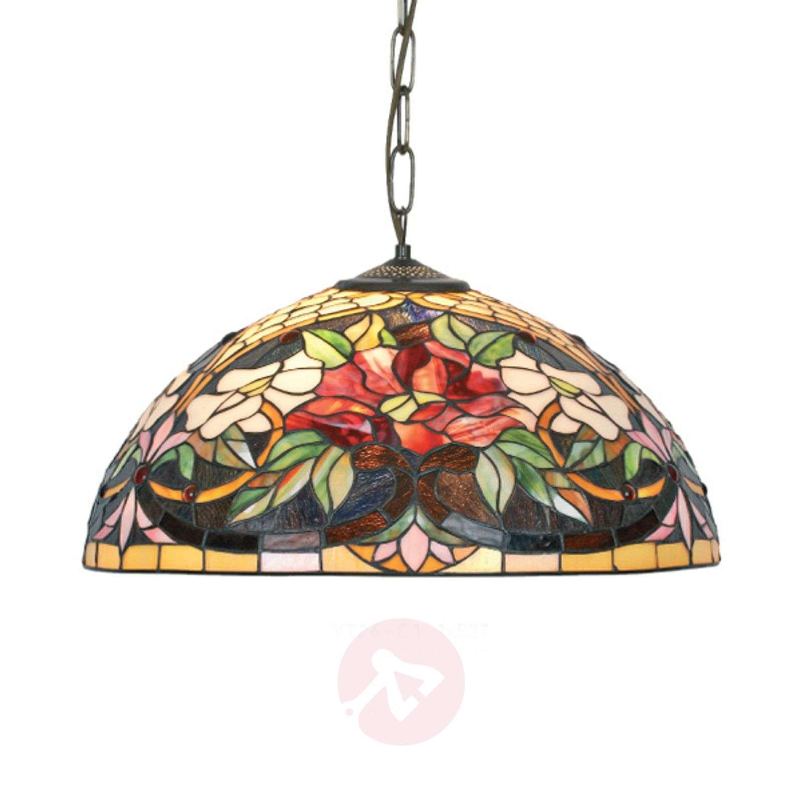 Tiffany-tyylinen Ariadne-riippuvalaisin, 1-lamp.-1032148-01
