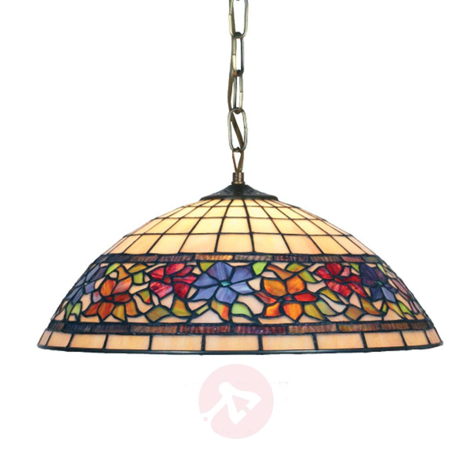 Tiffany-tyylinen Flora-riippuvalaisin-1032126X-01