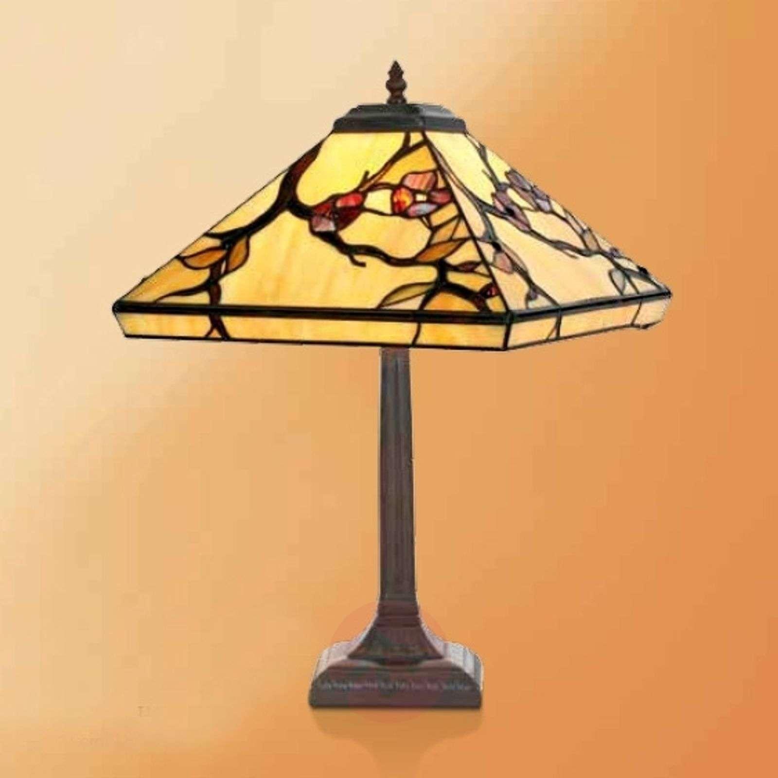 Tiffany-tyylinen Juliett-pöytävalaisin, 52 cm-1032288-01