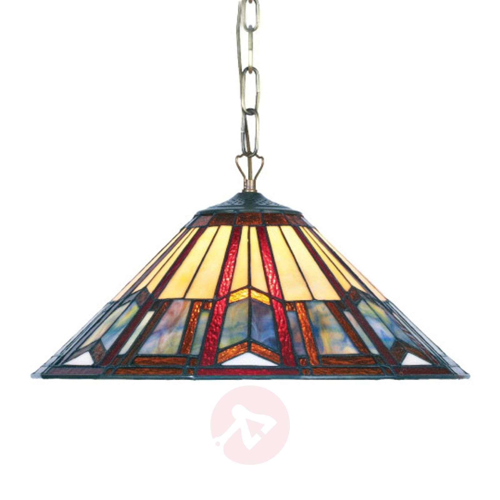 Tiffany-tyylinen LILLIE-riippuvalaisin-1032130-01