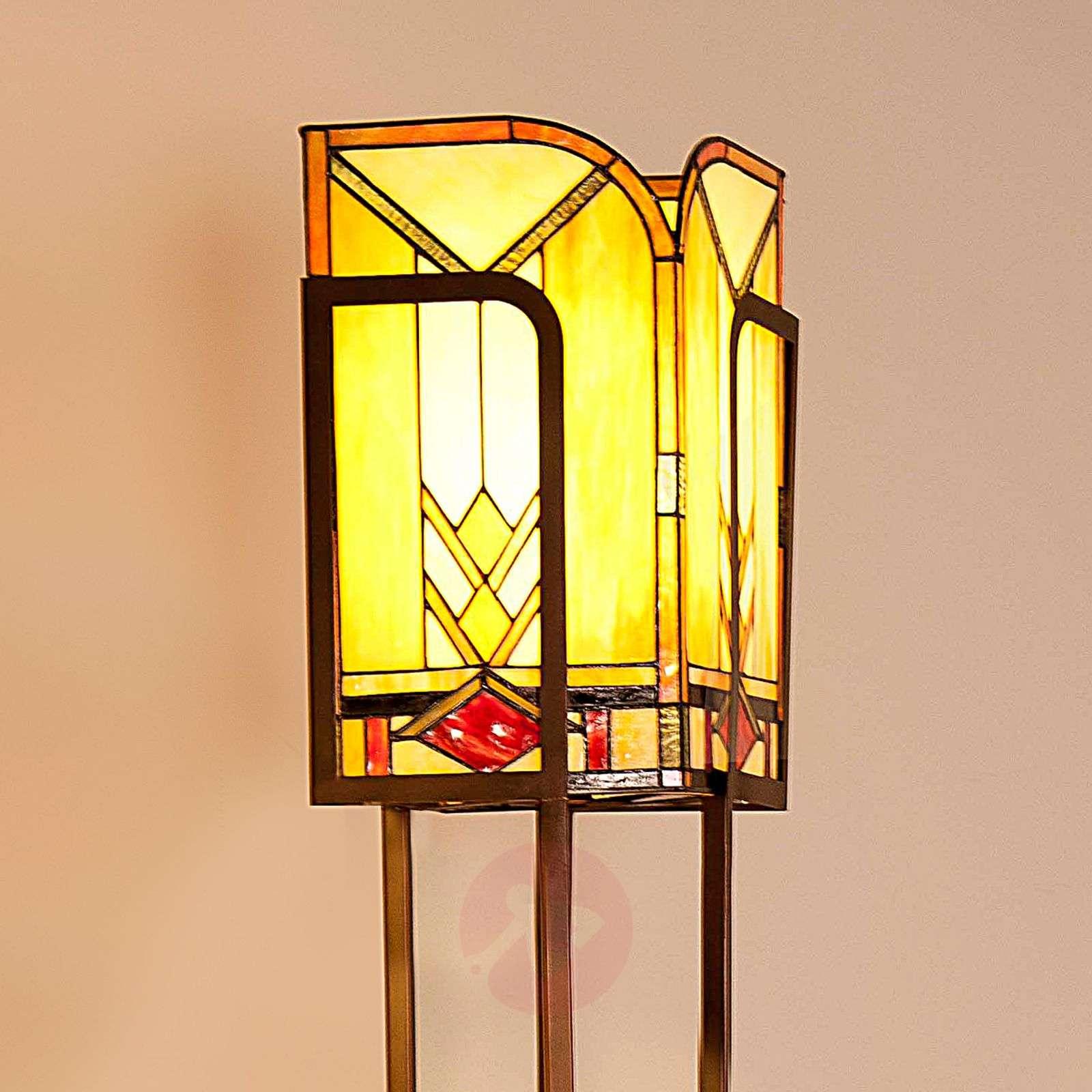 Tiffany-tyylinen Madison-lattiavalaisin-6064065-04
