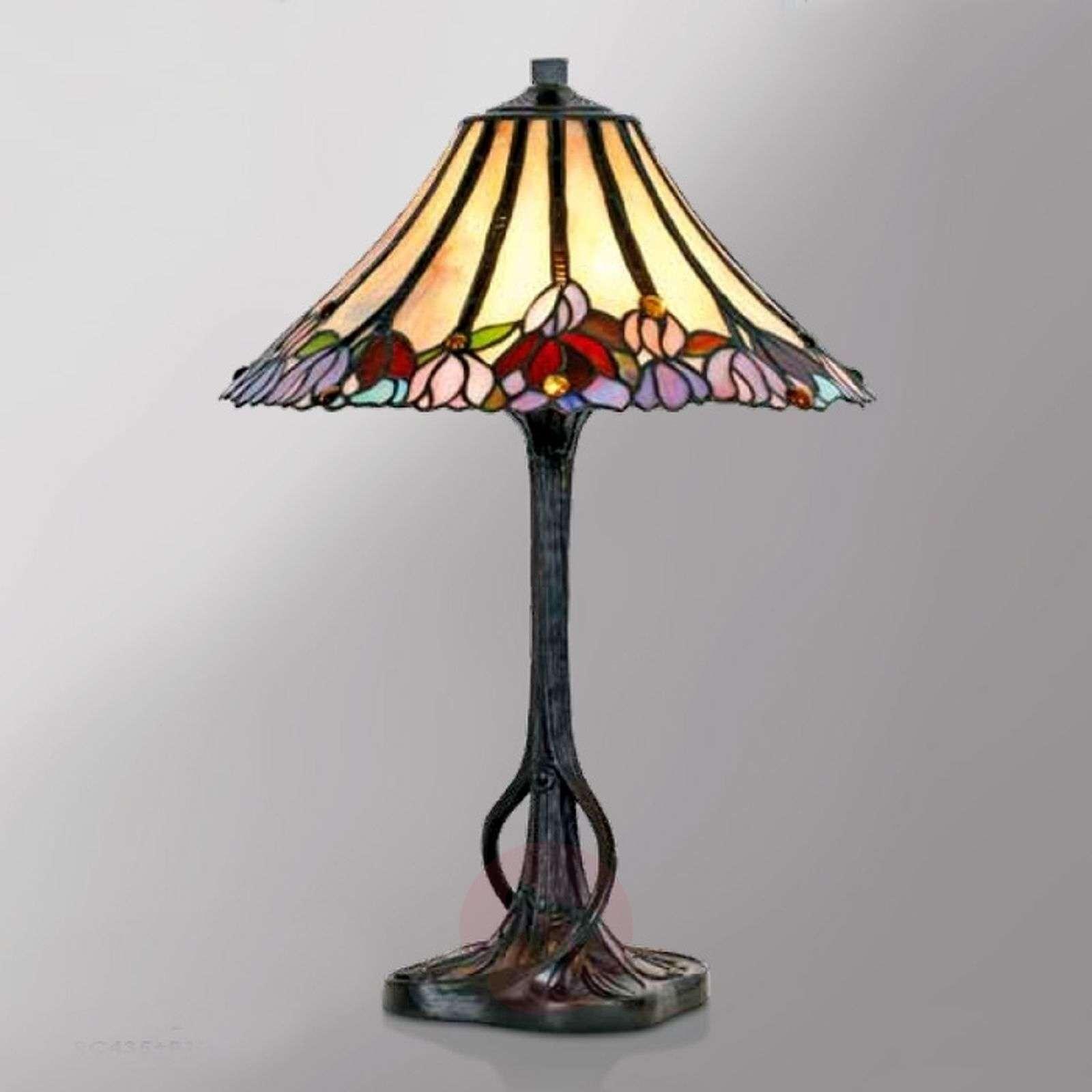 Tiffany-tyylinen Tori-pöytävalaisin-1032260-01