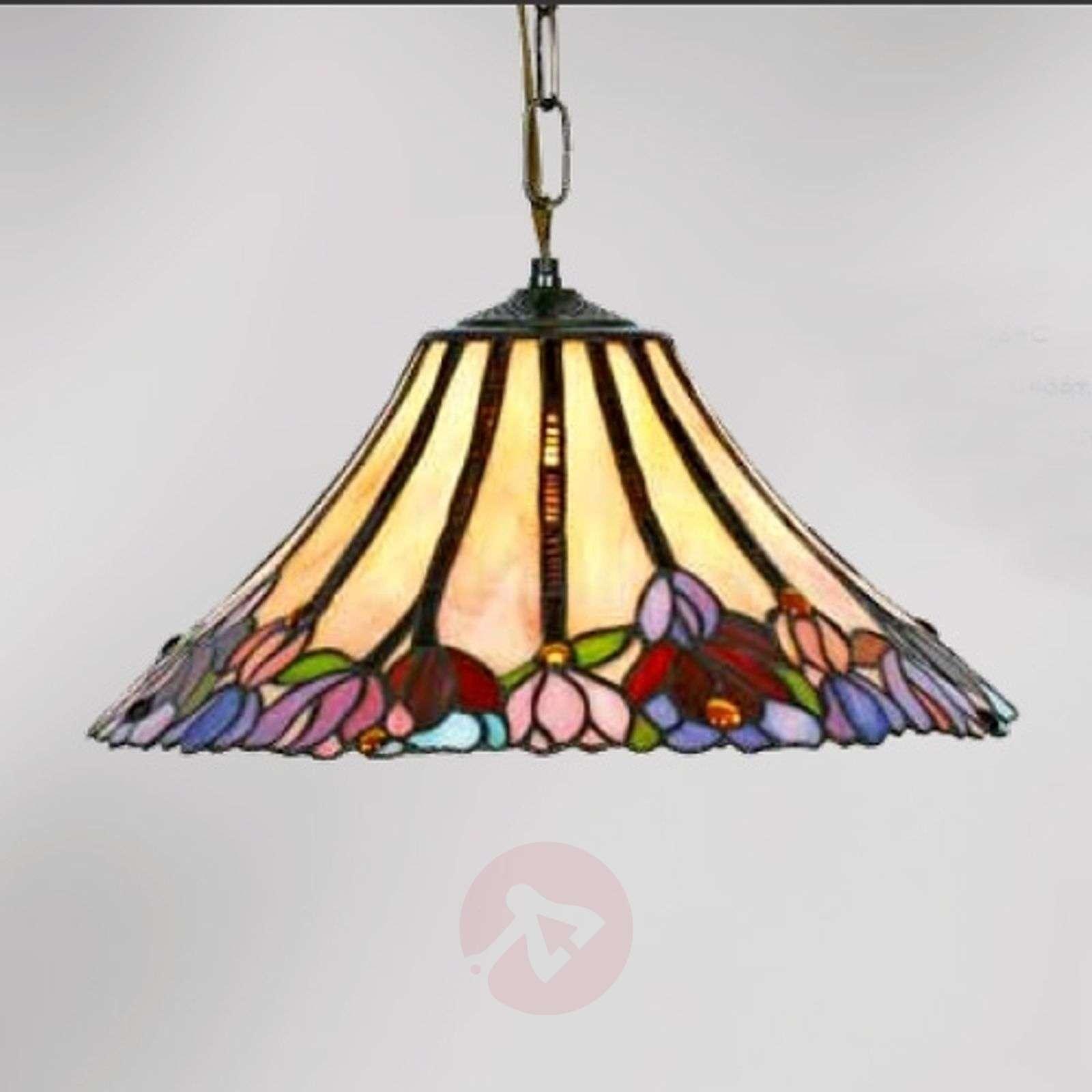 Tiffany-tyylinen Tori-riippuvalaisin, 1-lamppuinen-1032257-01
