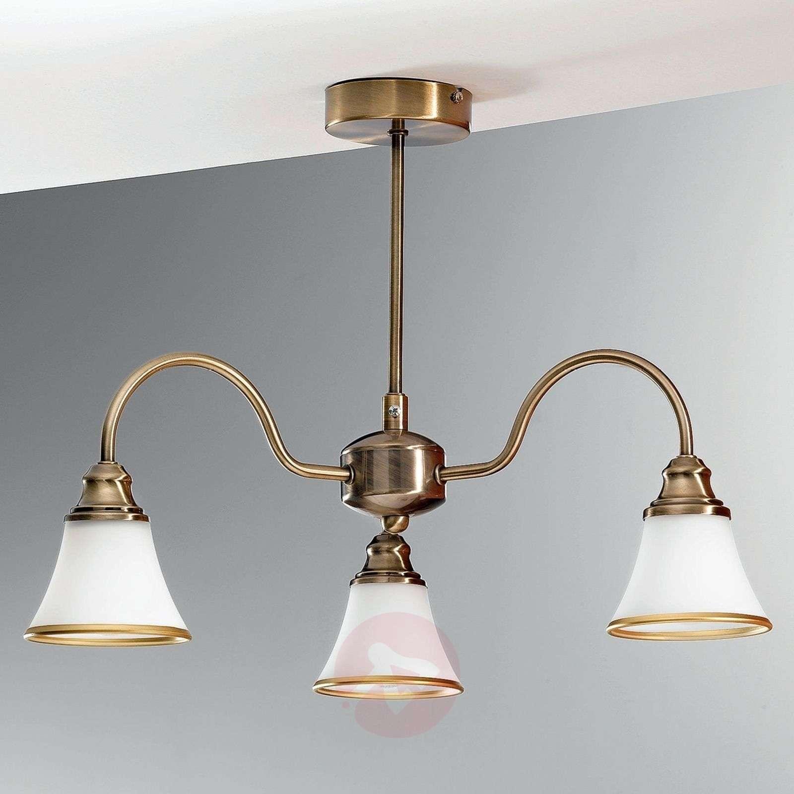TILDA – 3-lamppuinen kattovalaisin, antiikkimess.-7254266-01