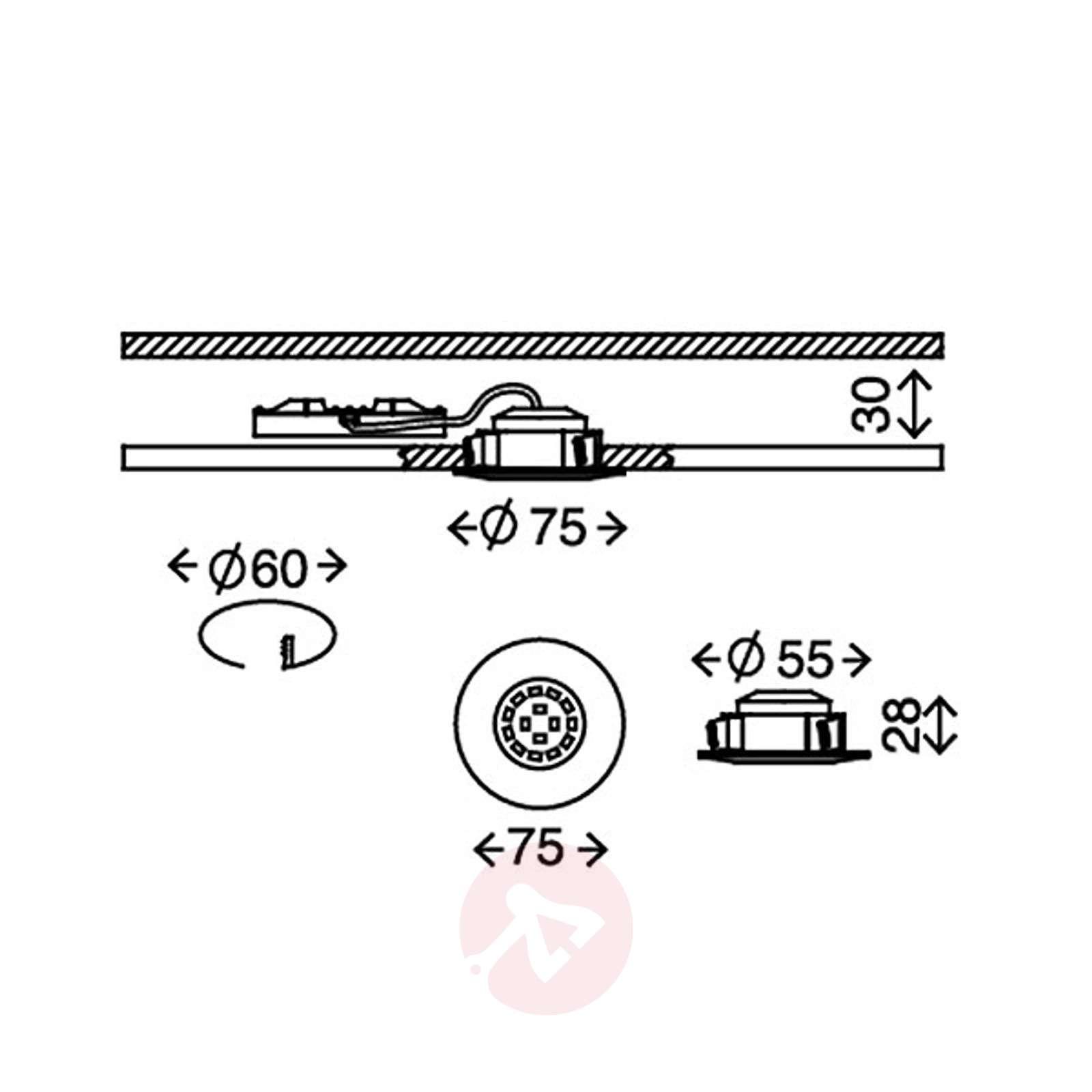 Till-LED-uppovalaisin ulkotiloihin, mattanikkeli-1510333-01