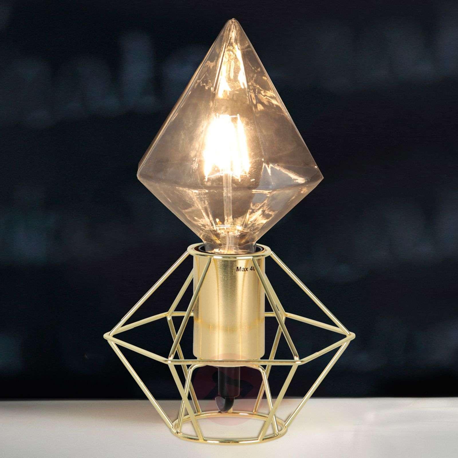 Timantinmuotoinen LED-lamppu E27 3,2W 827-1523009-01