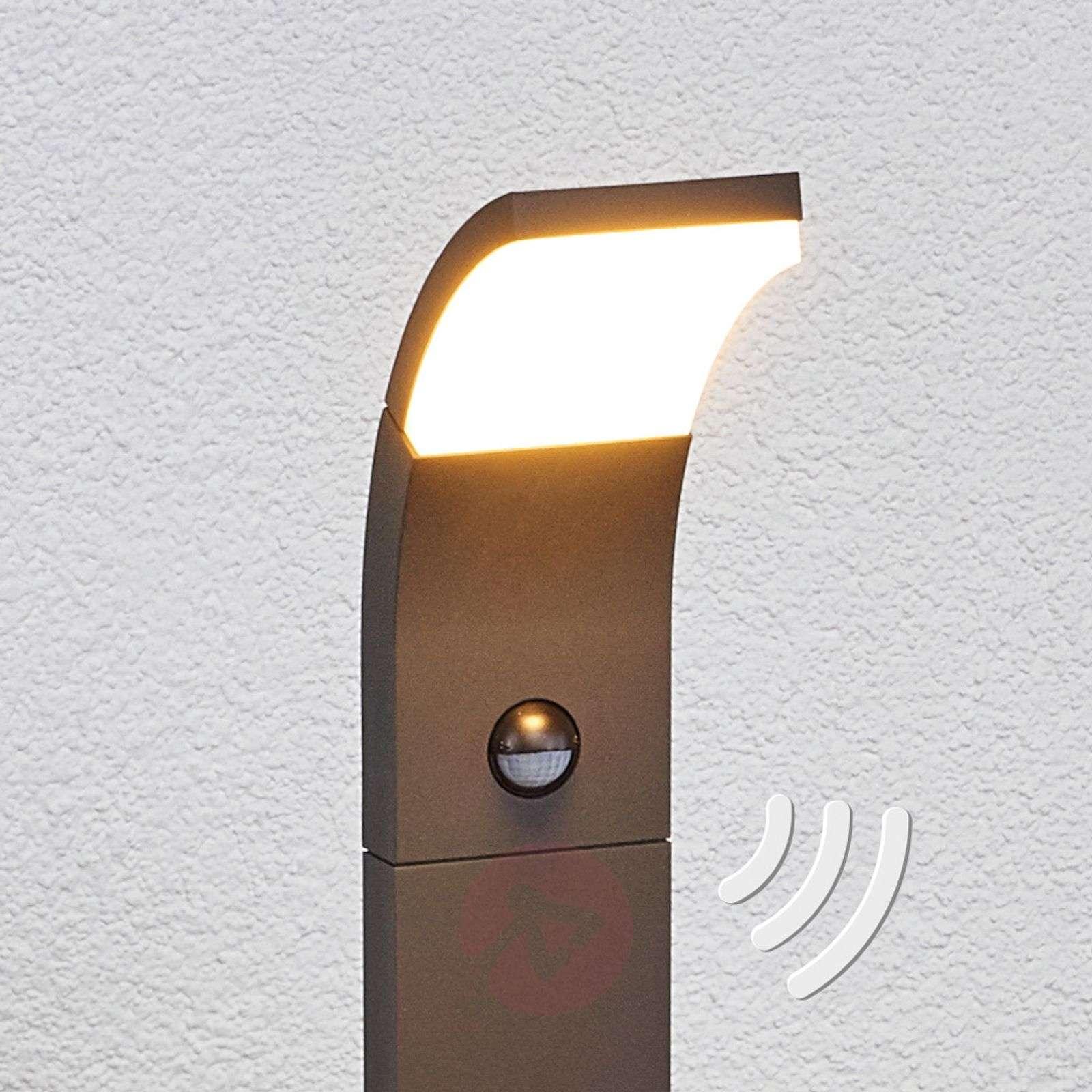Timm-LED-pylväsvalaisin liiketunnistimella, 100 cm-9619053-01