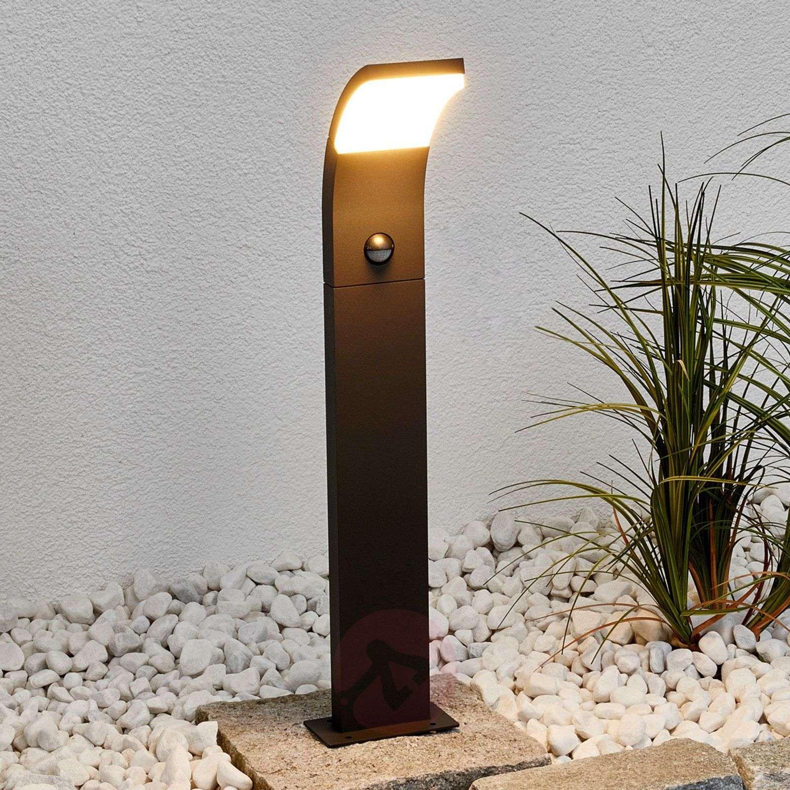 Timm – LED-pylväsvalaisin, liiketunnistin, 60cm-9619052-02