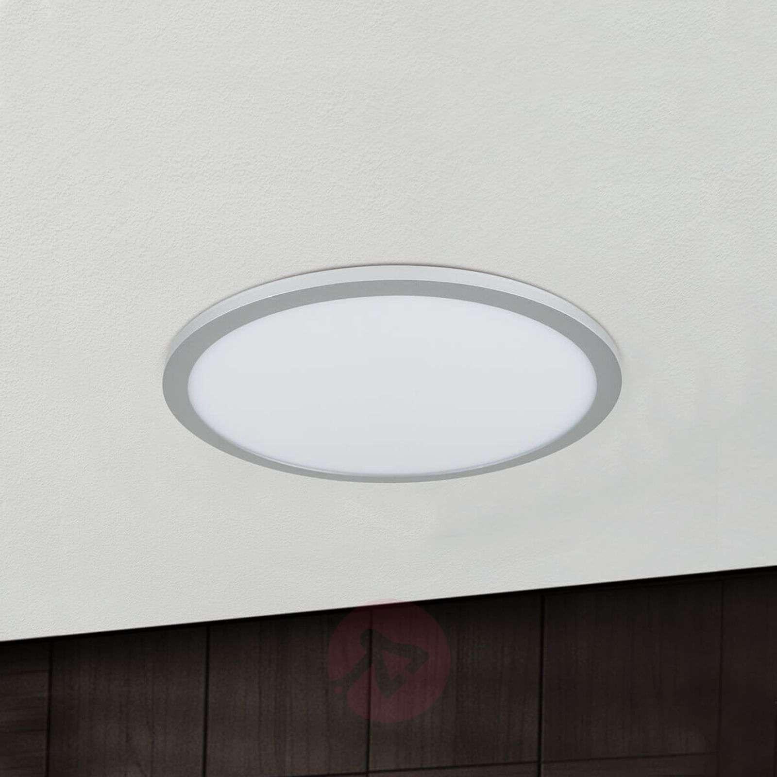 Titaaninvärinen LED-kattolamppu Aria, himm.-7255284X-01