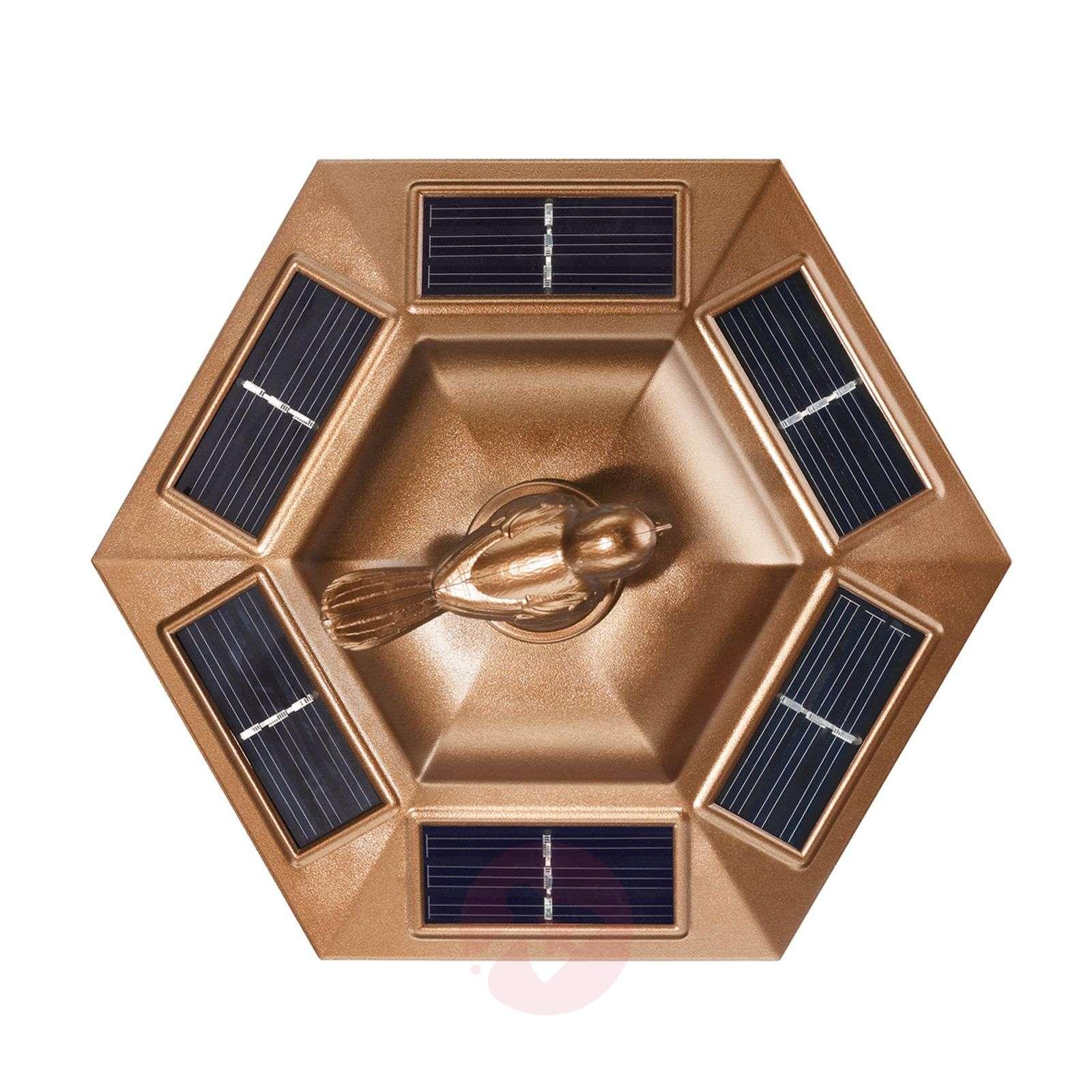 Tivoli-maapiikkivalaisin aurinkokenno LED, kupari-3012235-01