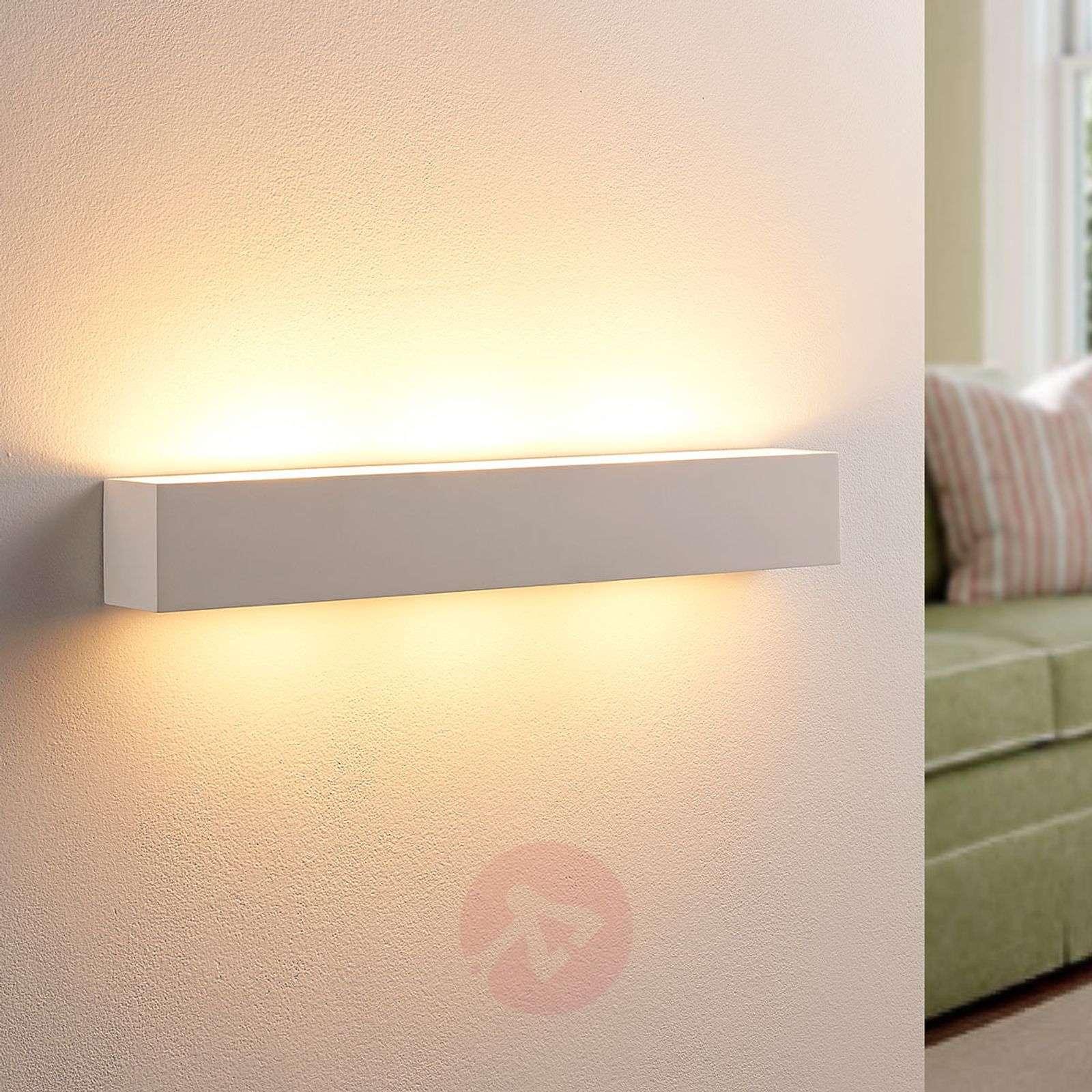 Tjada pitkänomainen LED-seinävalaisin, kipsiä-9621338-02