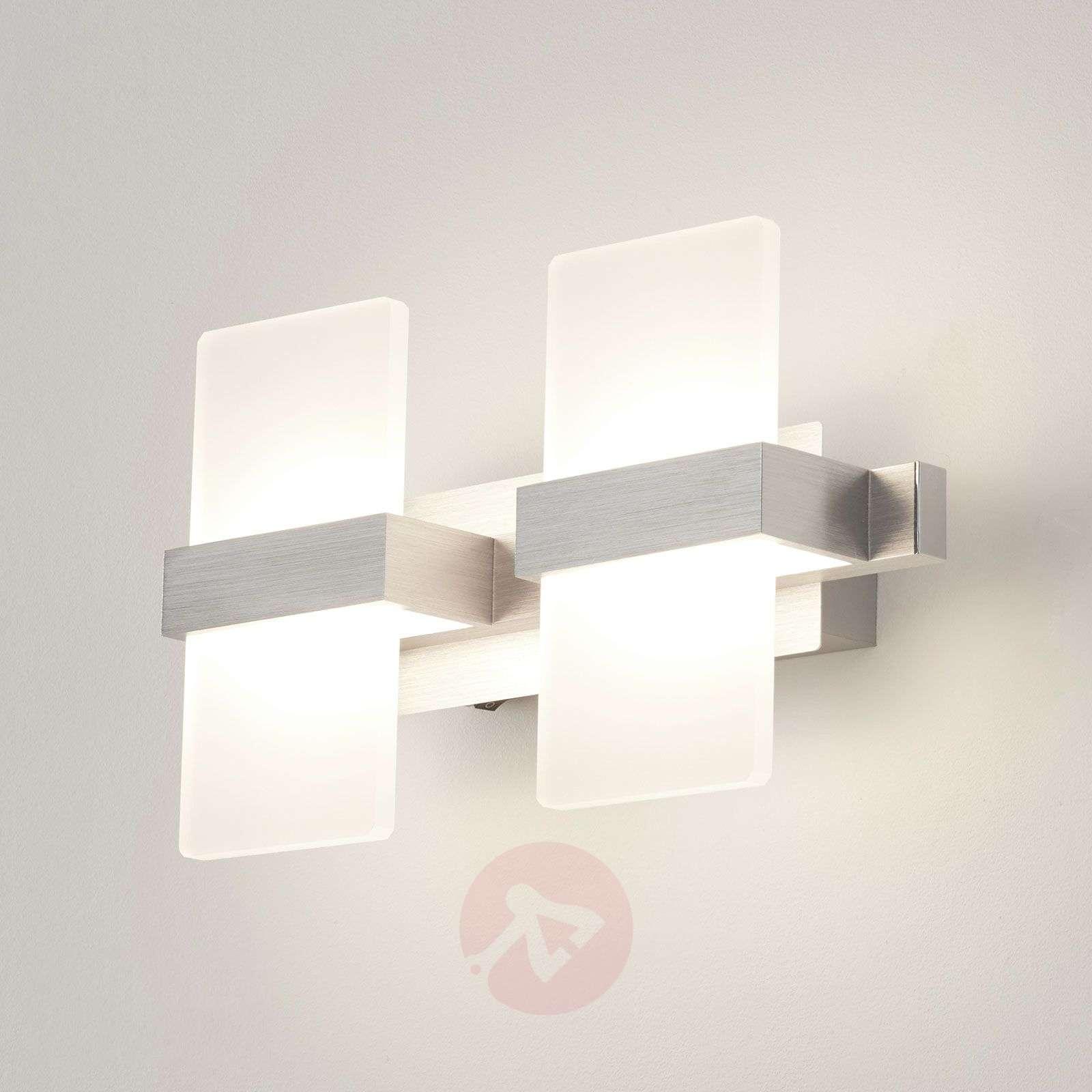 Trendikäs LED-seinävalaisin Platon, 2-lamppuinen-9005183-02