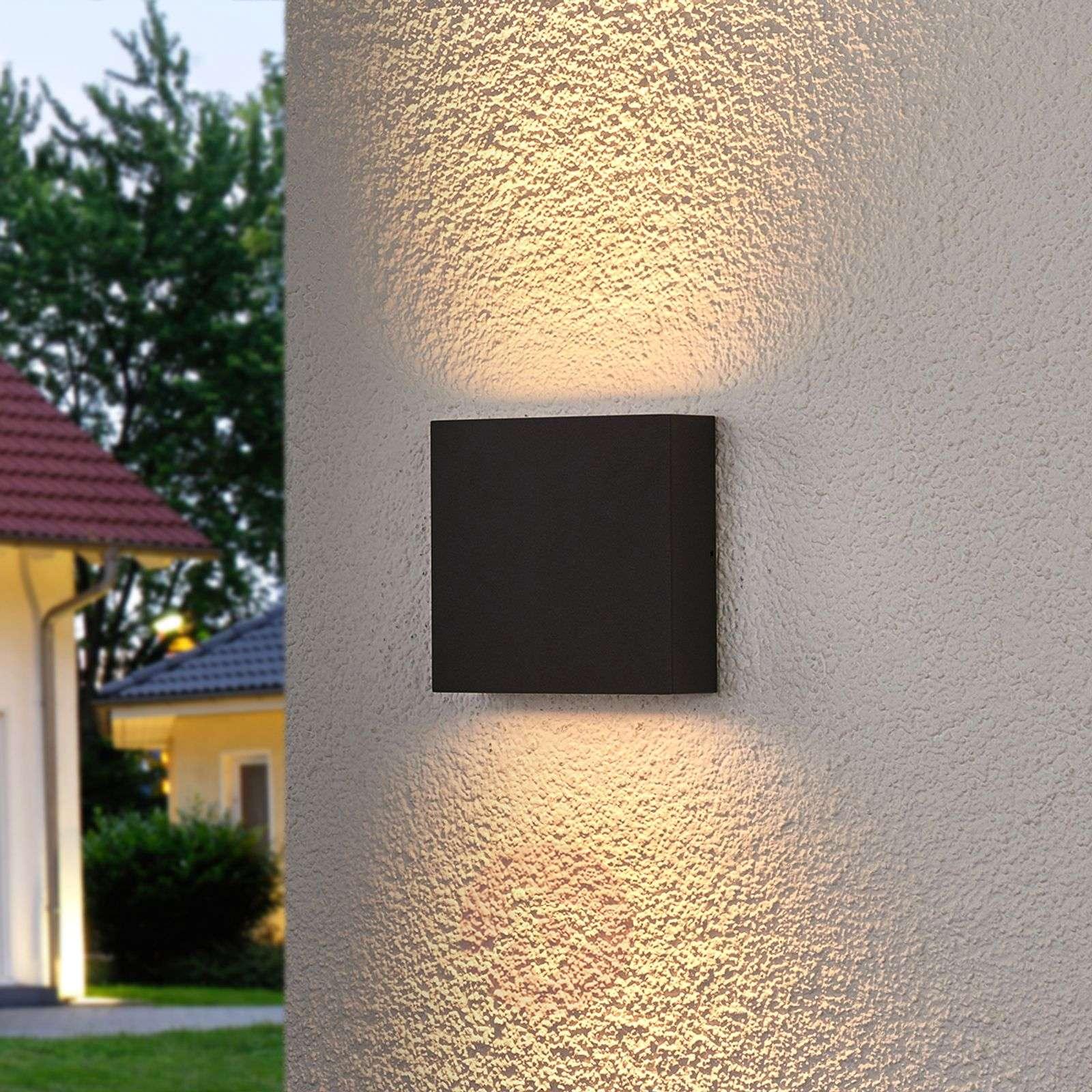 Trixy-LED-ulkoseinävalaisin grafiitinharmaa-9619075-01