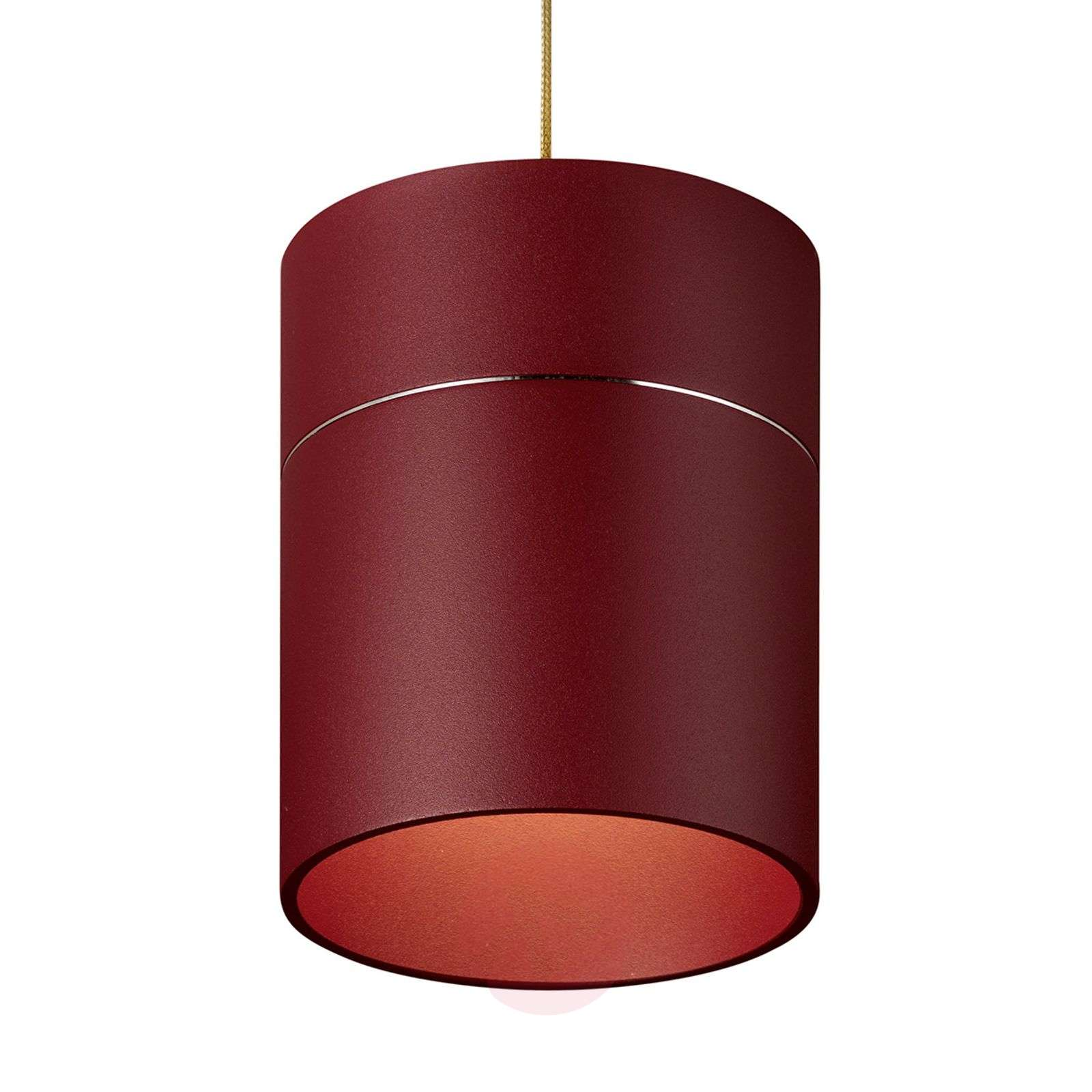 Tudor M riippuvalo 13,9 cm varjostinkorkeus puna.-7250467-01