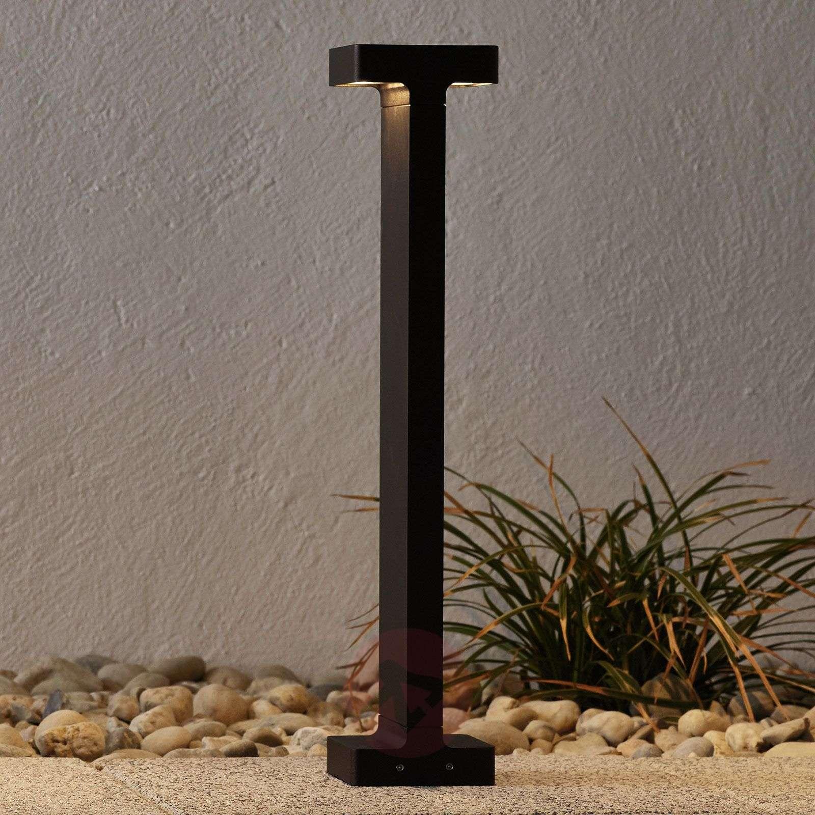 Tummanruskea LED-ulkoseinävalo Casting T 100-3510391-01