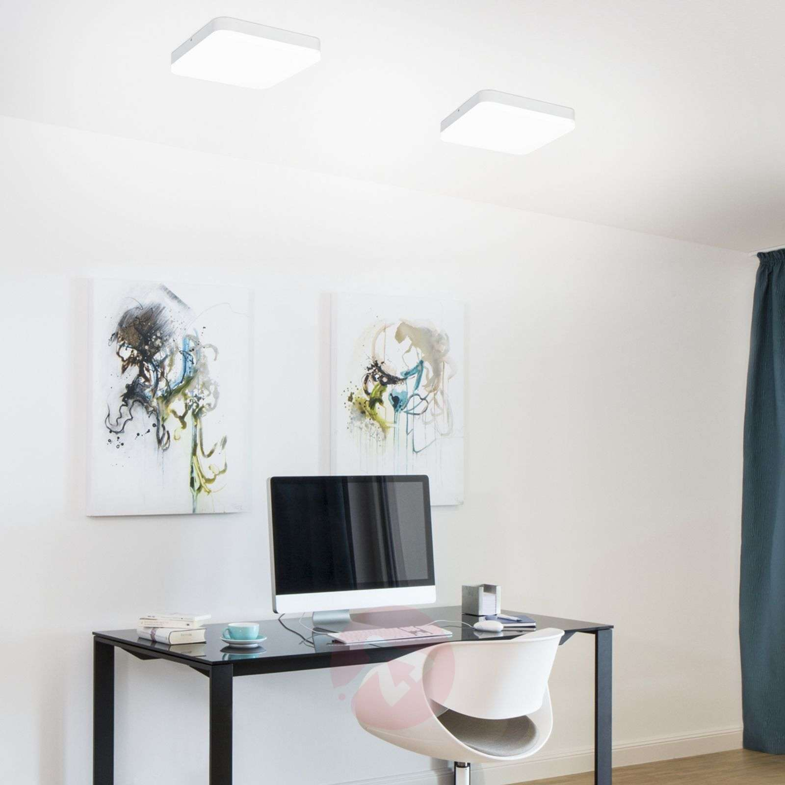 Tunnistimella – LED-kattovalaisin Office Square-8559227-02