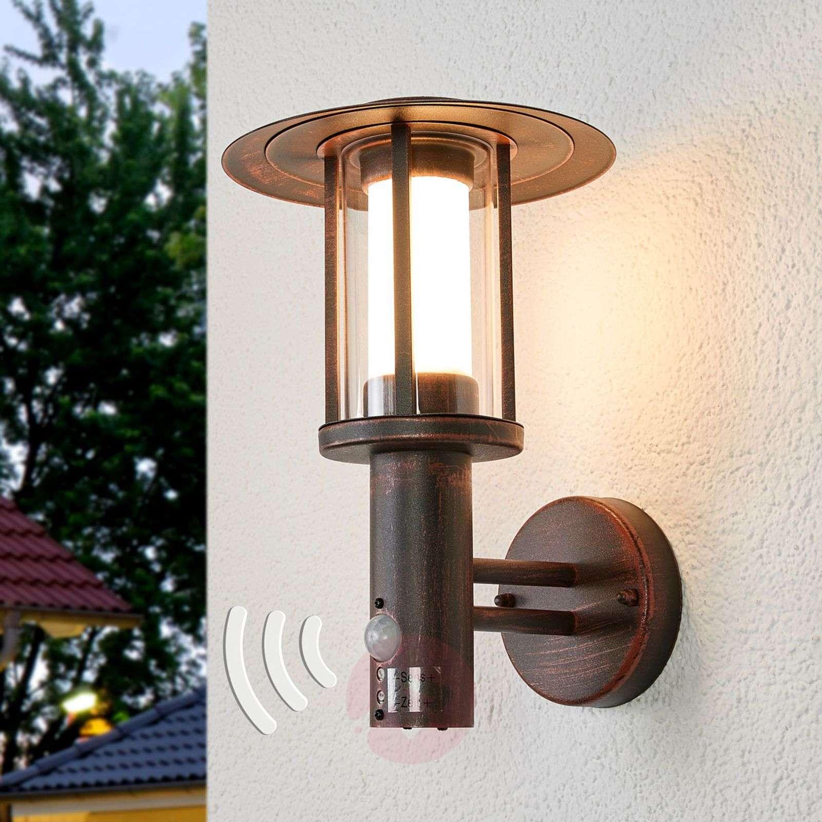 Tunnistimellinen LED-ulkoseinävalaisin Pavlos-9945245-01