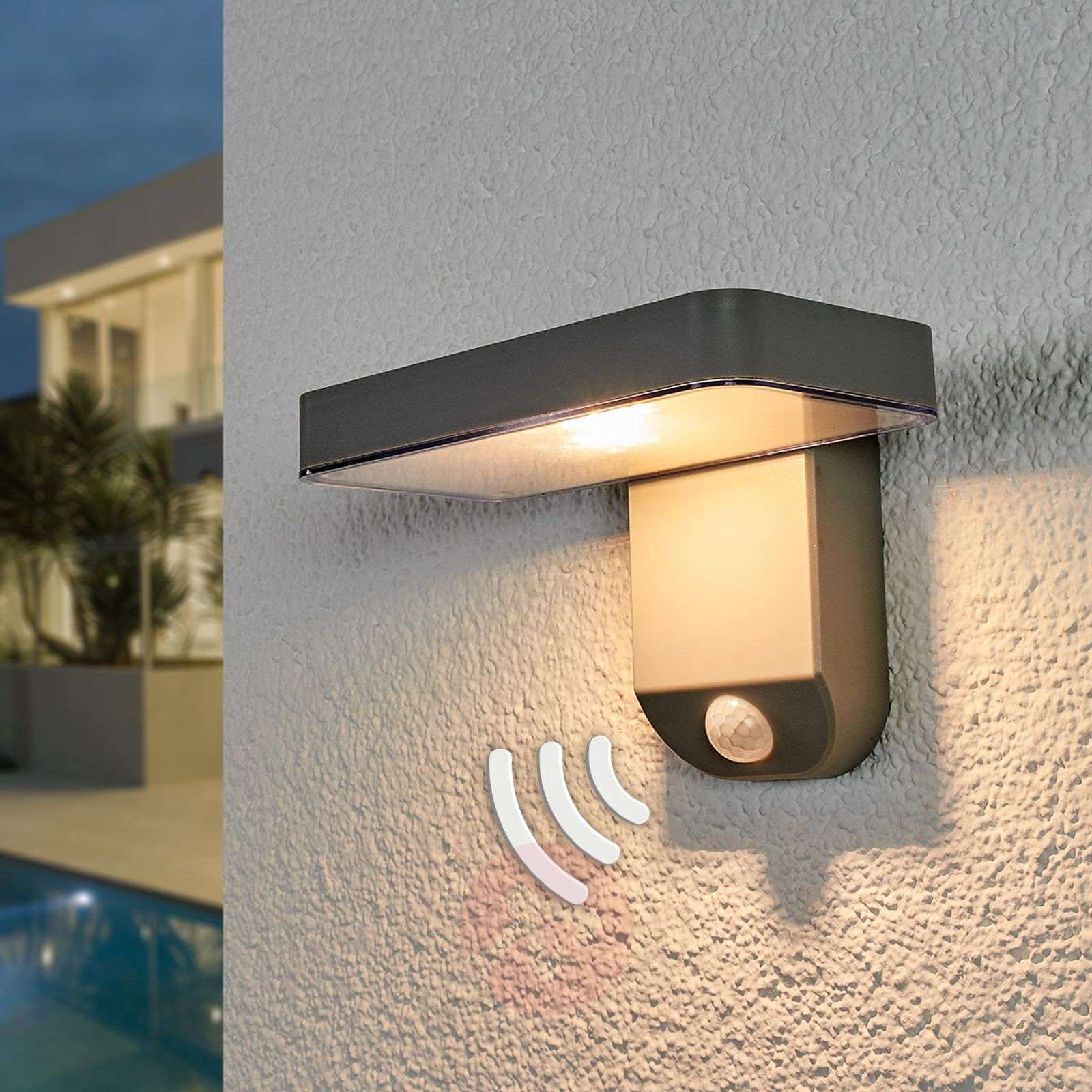 Tunnistinohjattu LED-aurinkokennovalaisin Maik-9955065-03