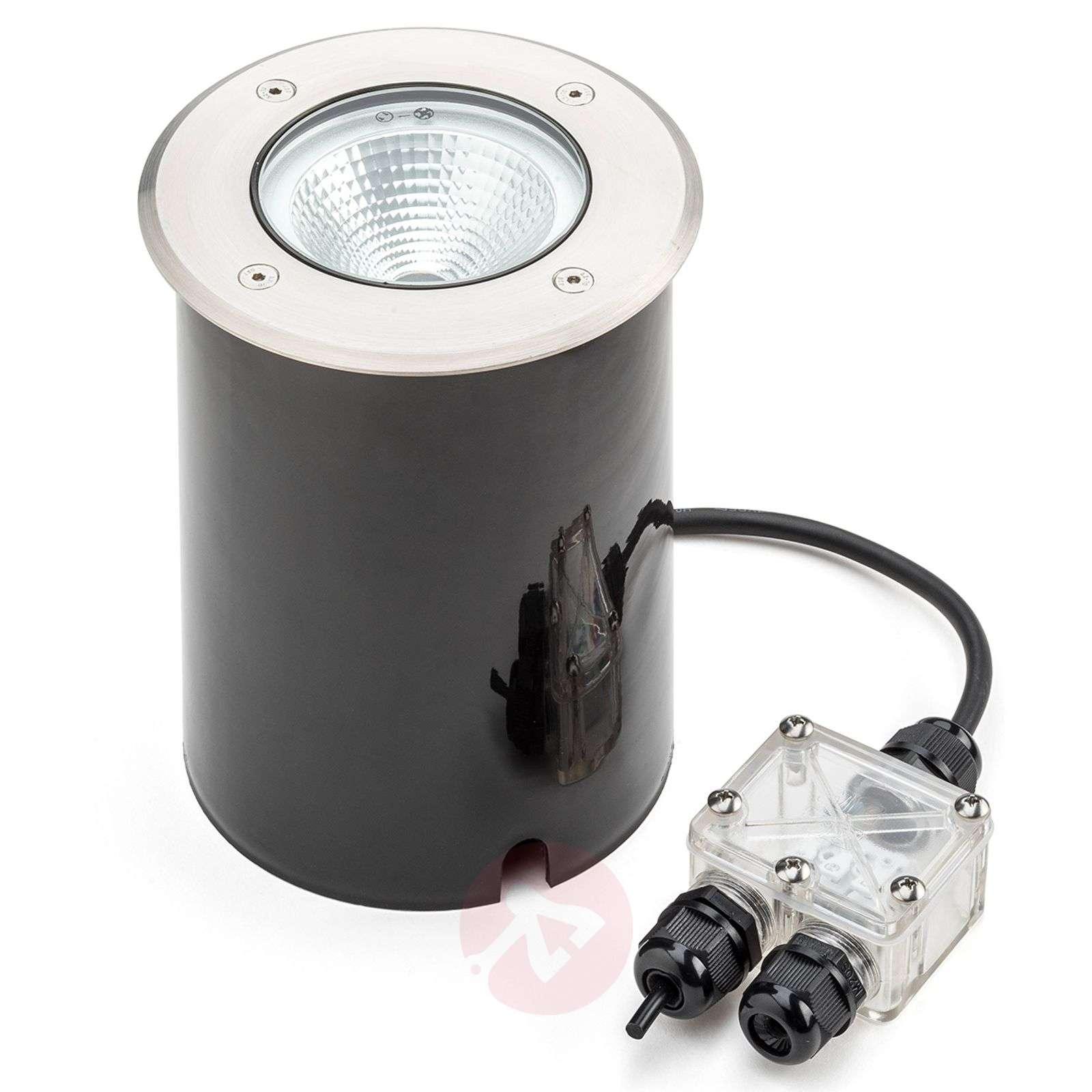Tuva – upotettava LED-maakohdevalaisin pyöreä IP65-5522530-01