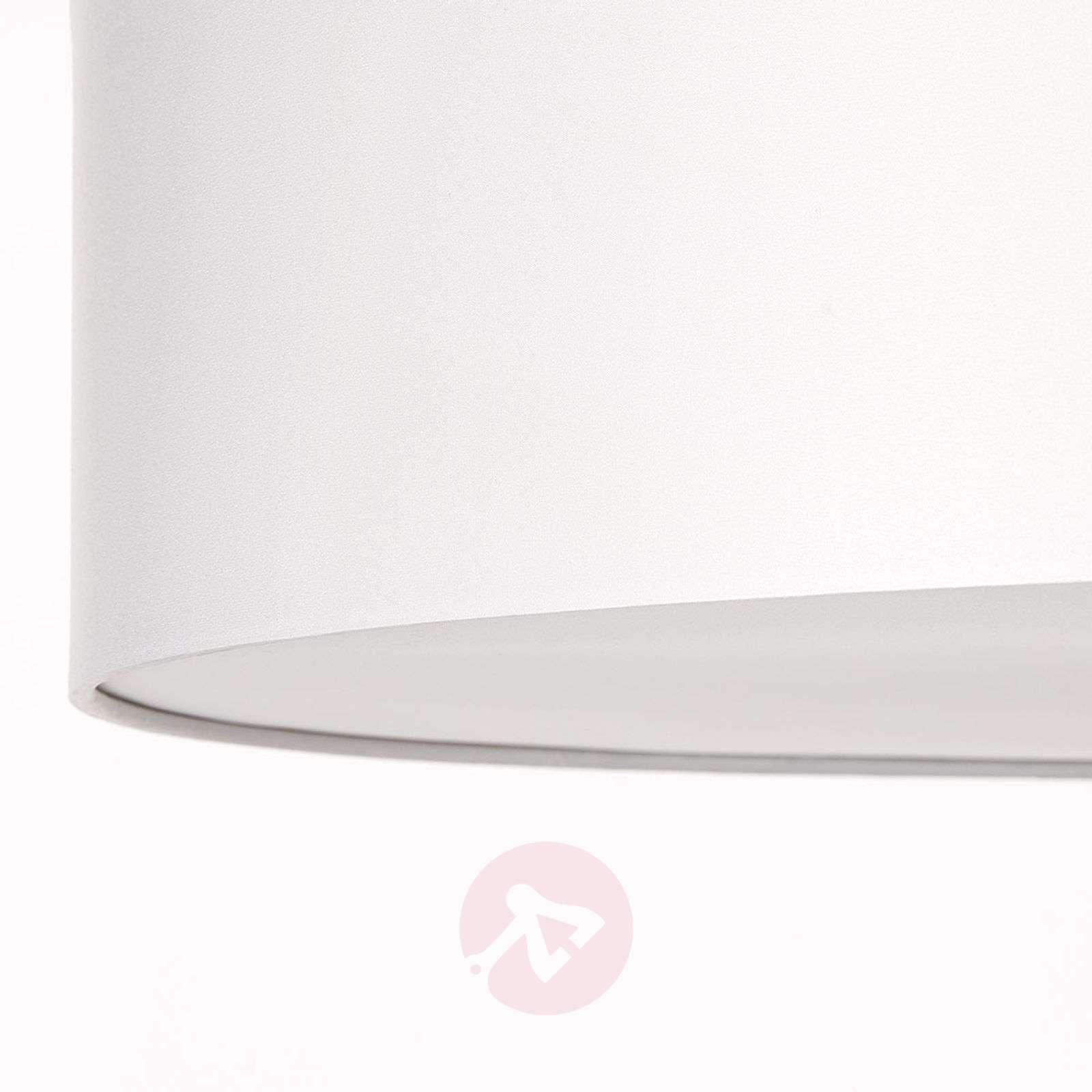 Tyylikäs Andria-kattovalaisin kangasvarjostimella-1509404X-01