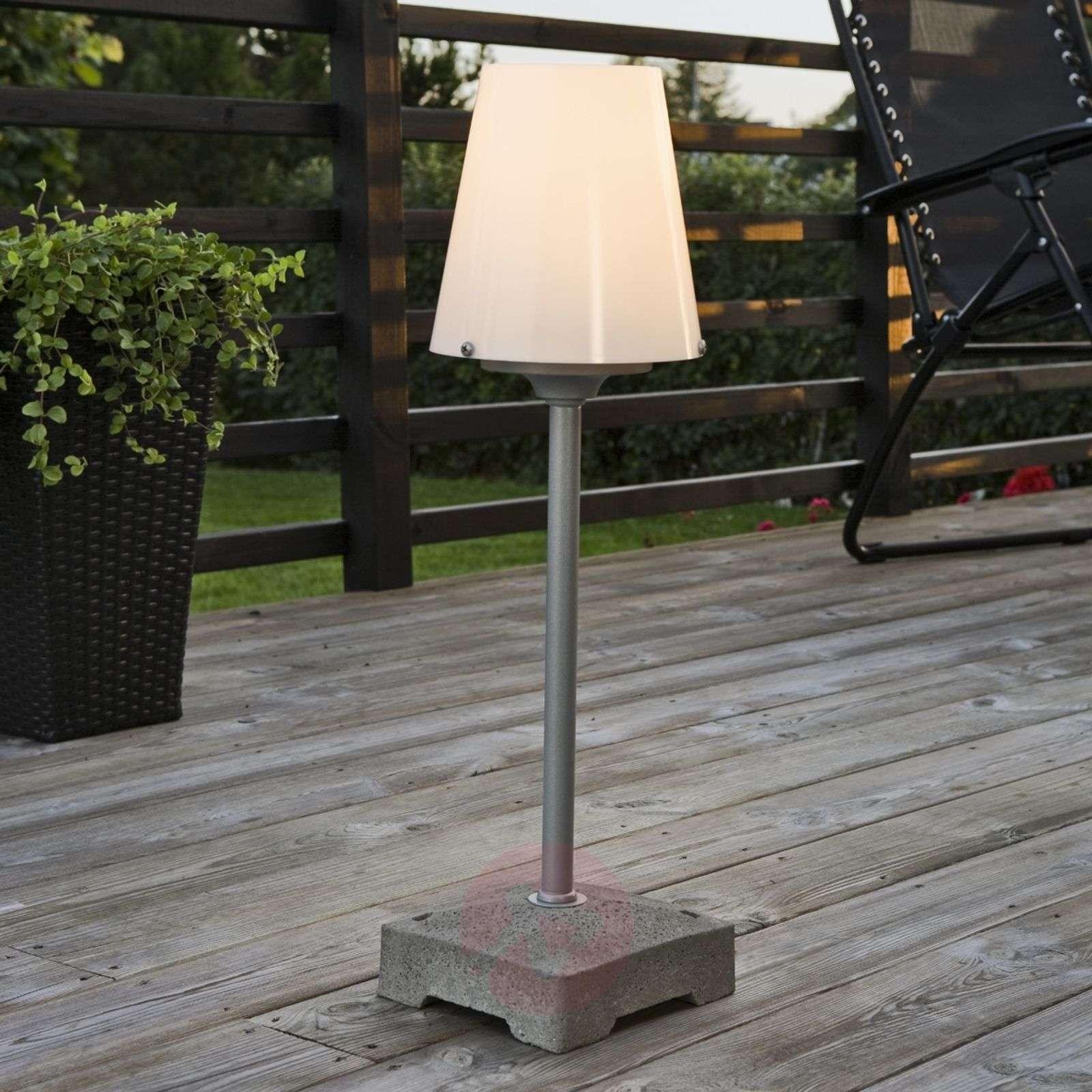 Tyylikäs lattiavalaisin New Lucca ulos, 59cm-5522321-01