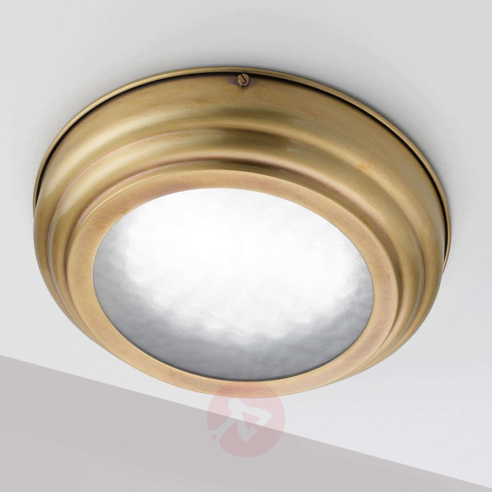 Tyylikäs LED-kattolamppu Scirocco, satinoitu mess.-2008286-01