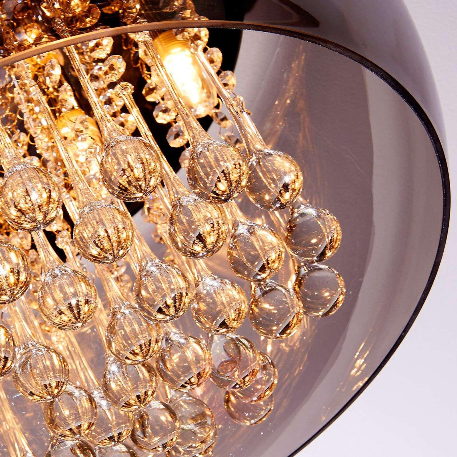 Tyylikäs LED-kristallikattovalaisin Leona-9620801-013