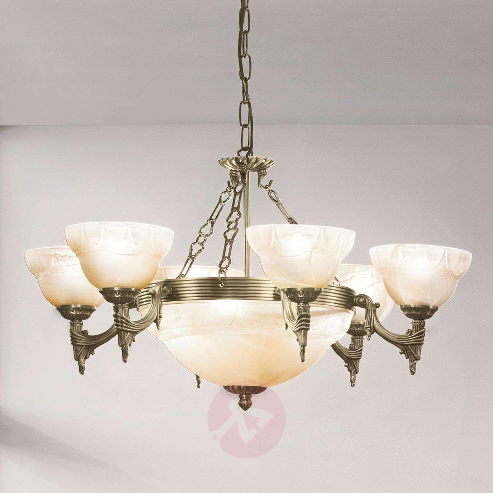 Tyylikäs Marilla-riippuvalaisin, 9 lamppua-3001126-01
