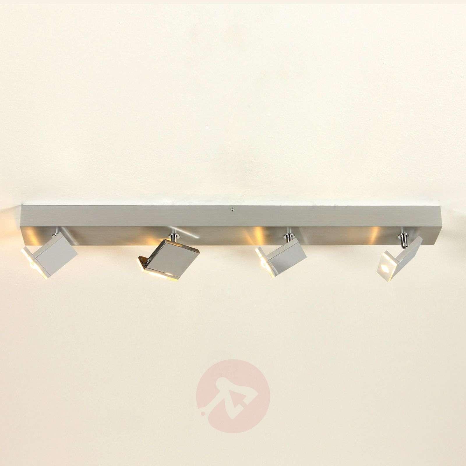 Tyylikäs nelilamppuinen LED-spotti Elle, himmennys-1556130-01
