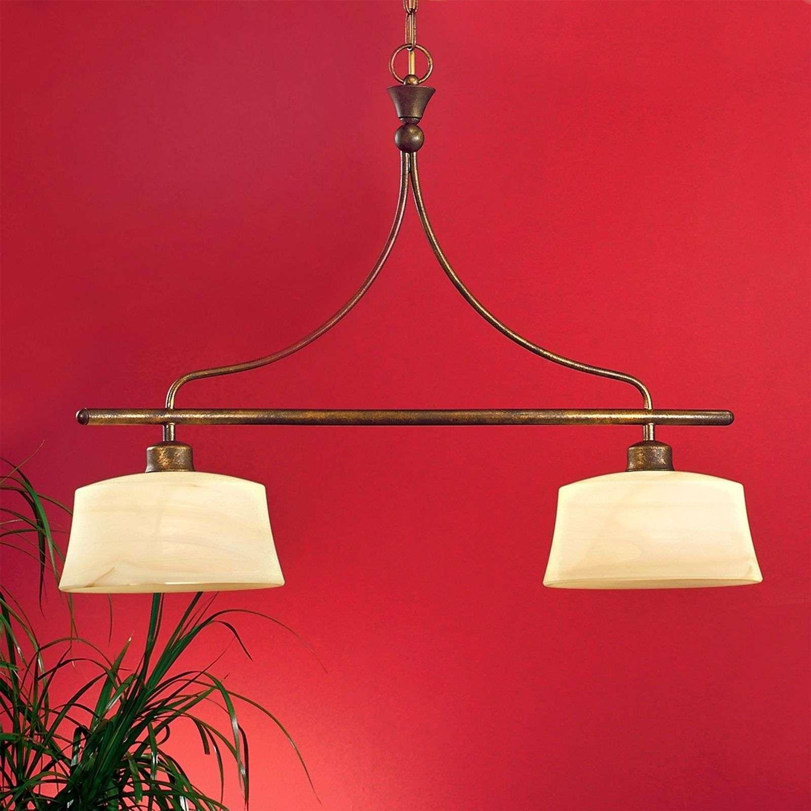 Tyylikäs riippuva valaisin ESTELLA 2-lamppuinen-7253415-01