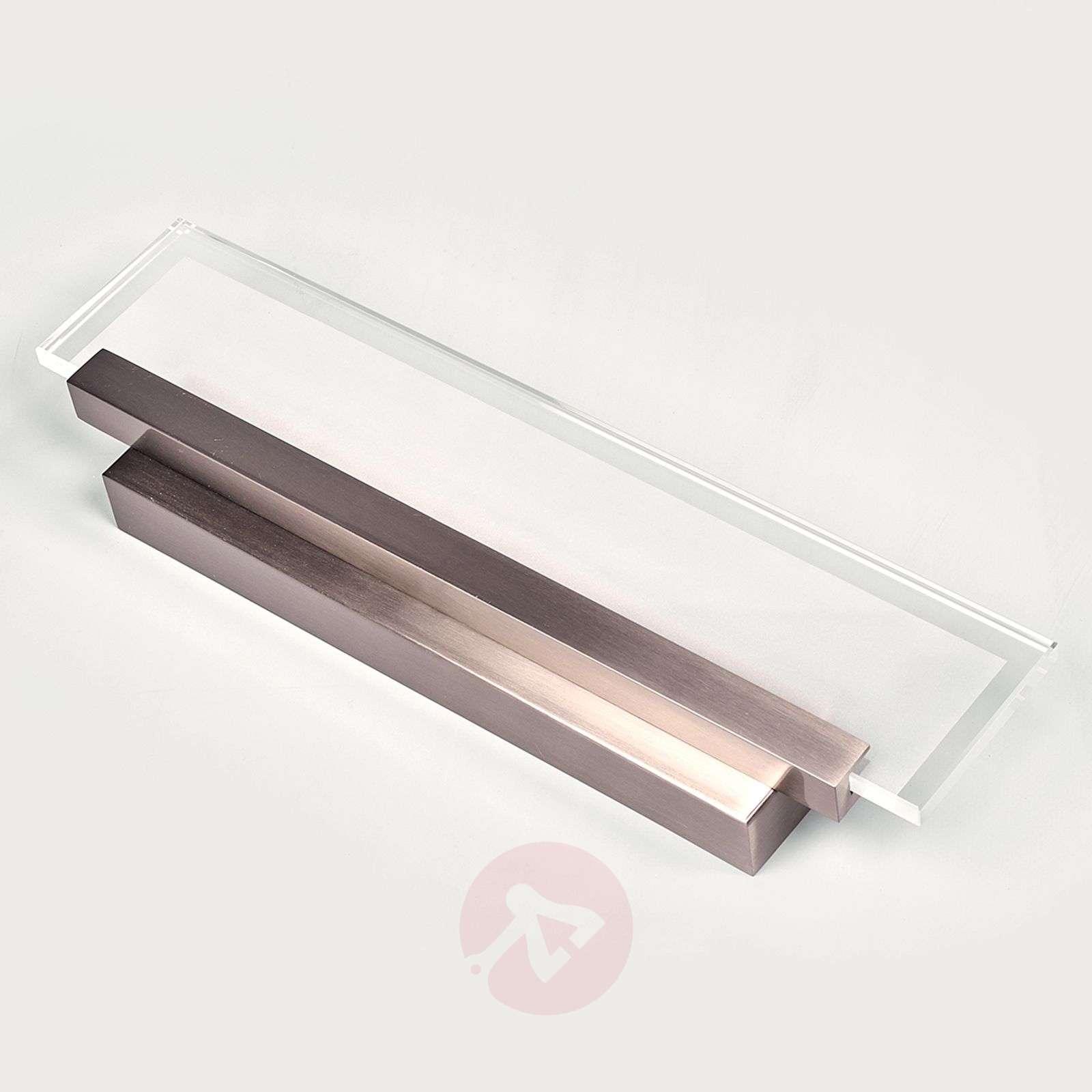 Tyylikäs Teja-seinävalaisin LED lasipaneelilla-9644084-01