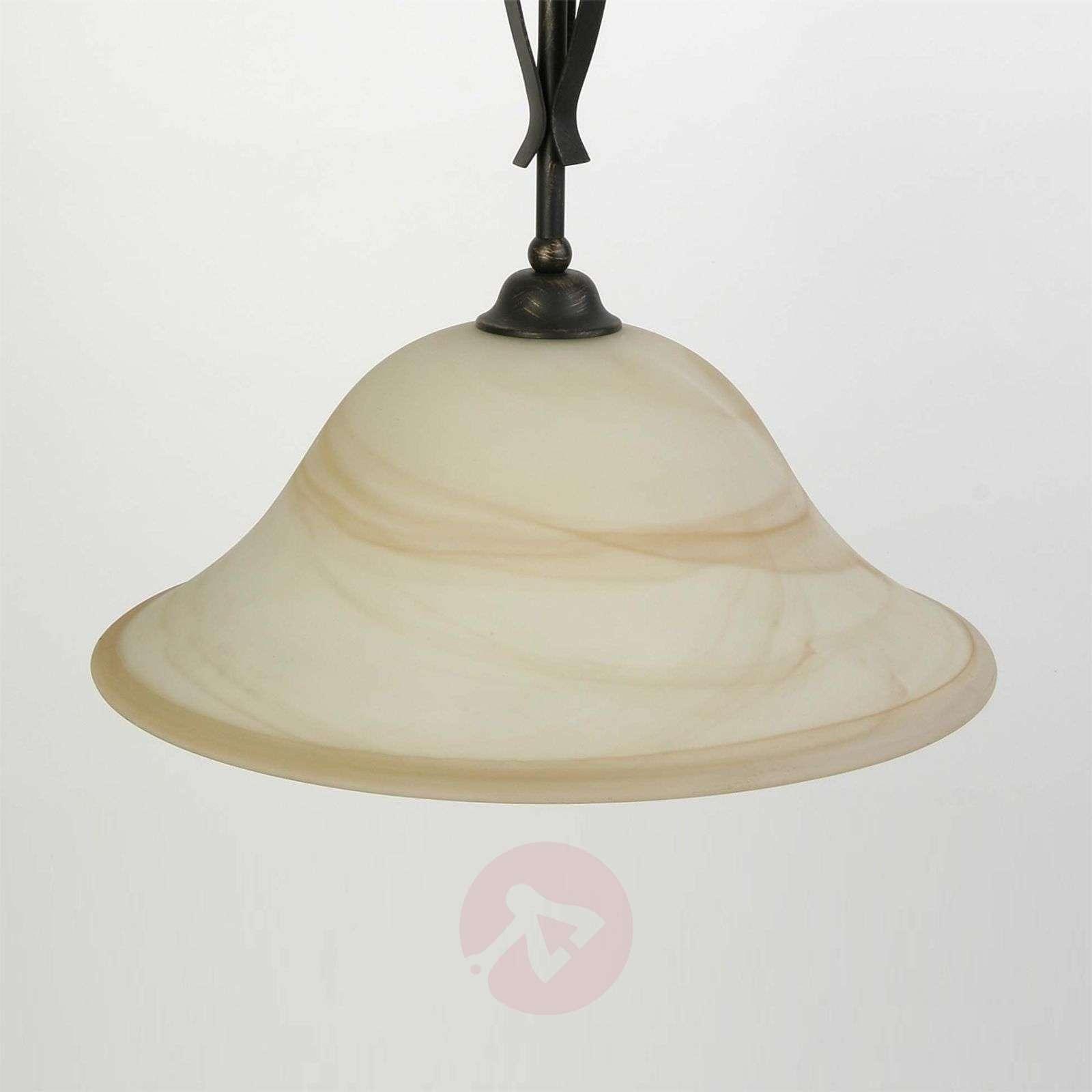 Tyylikäs yksilamppuinen Fiore-riippuvalaisin-1508514-01