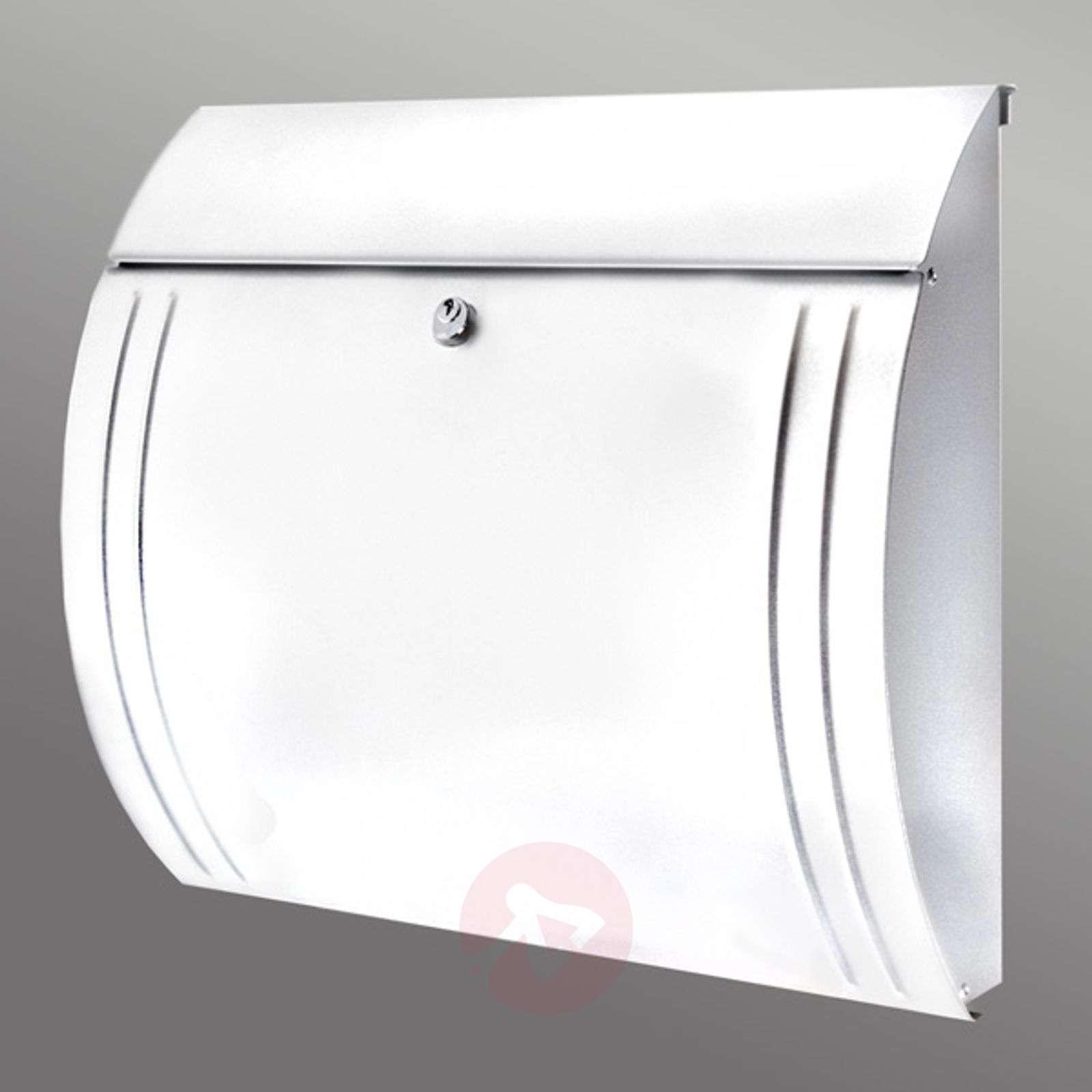 Tyylikkään muotoinen Modena-teräspostilaatikko-1532059X-01