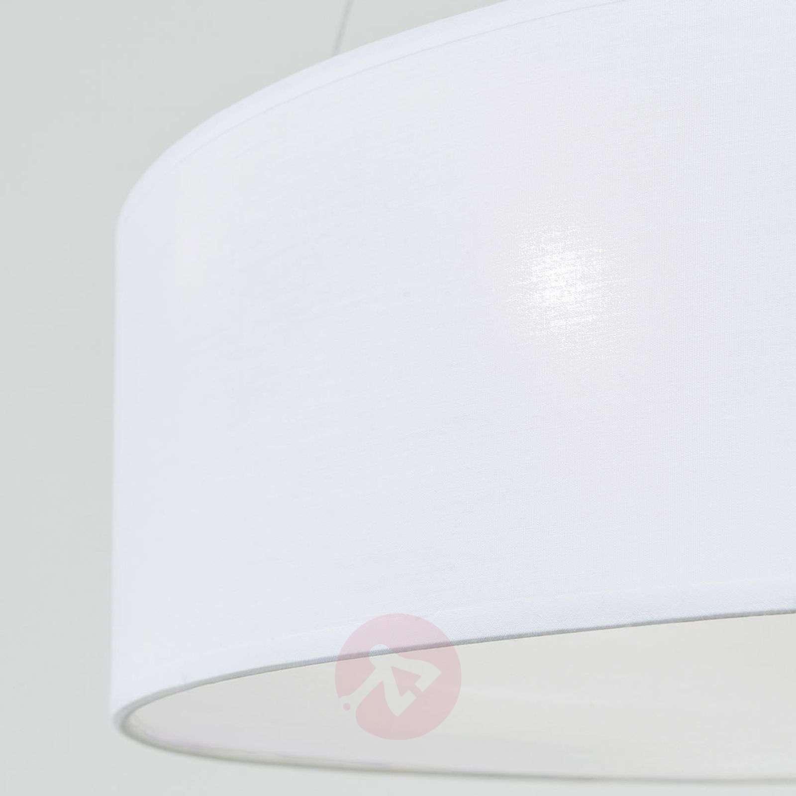 Ufo-riippuvalaisin, valkoinen tekstiilivarjostin-7255354-01