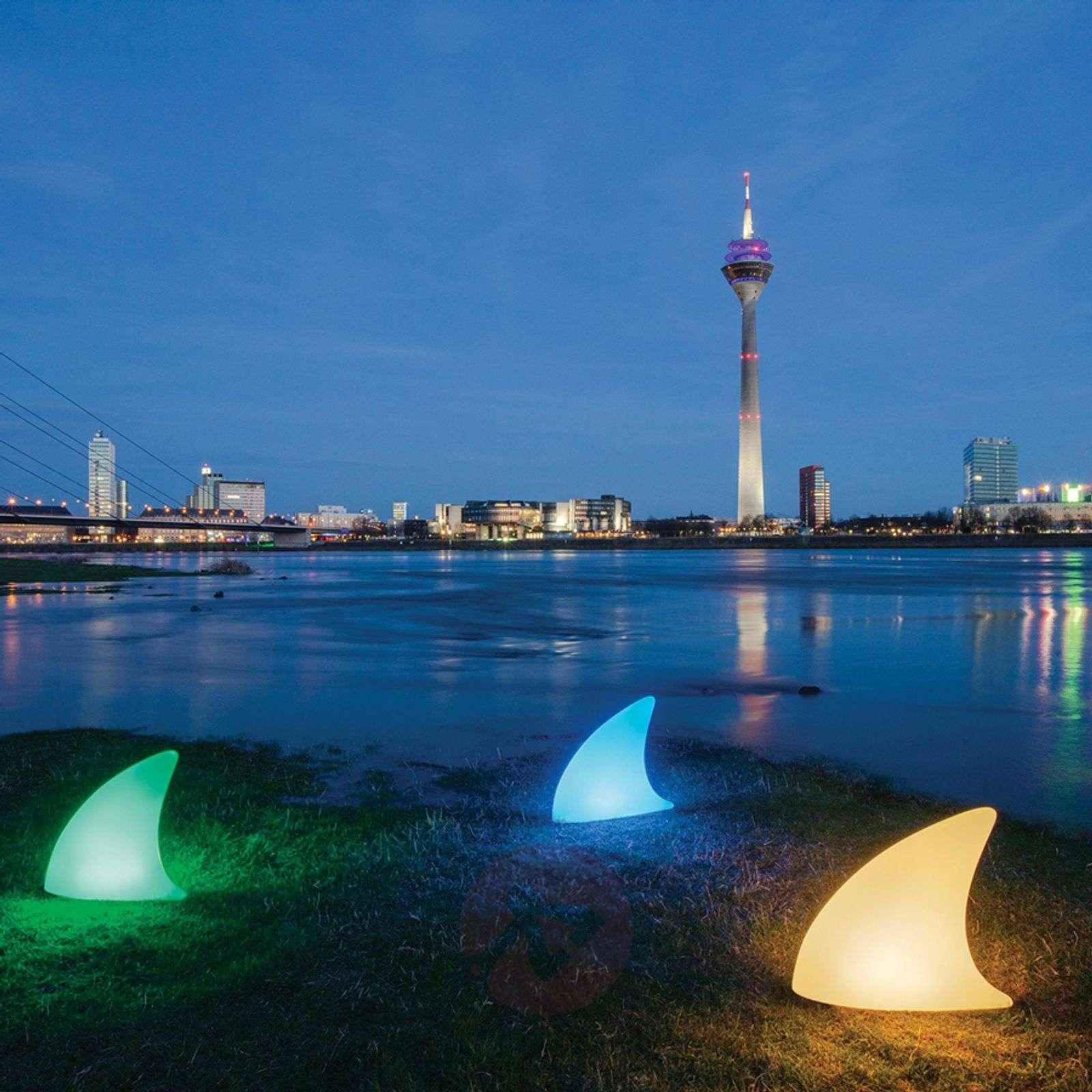 Ulkokoristevalaisin Shark Outdoor LED Accu-6537091-01