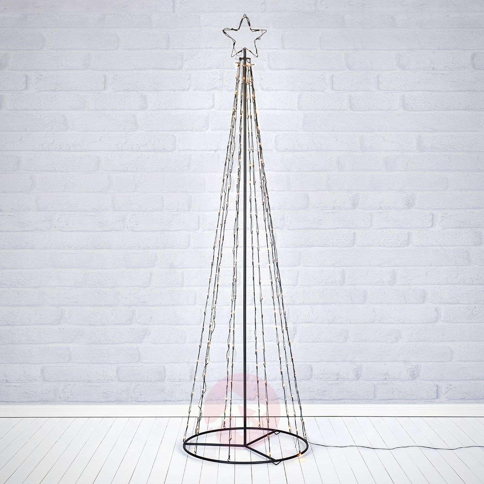 Ulkotiloihin LED-puusiluetti Torn 250-lamppuinen-6507505-01