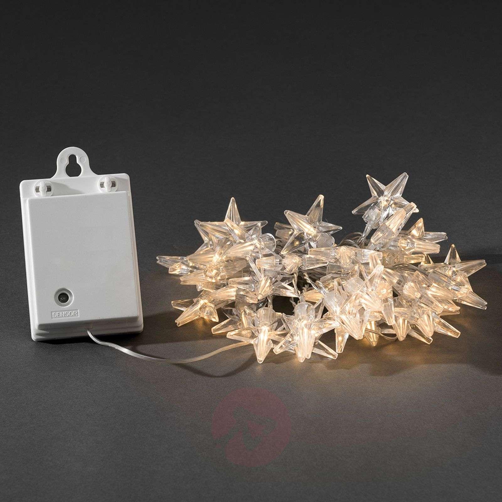 Ulkovaloketju tähdet LED 40 lamppua, paristo-5524579-01