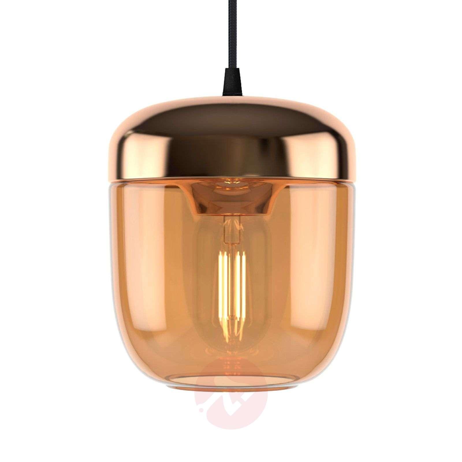 UMAGE Acorn riippuvalo 1 lamppu meripihka messinki-9521222-01