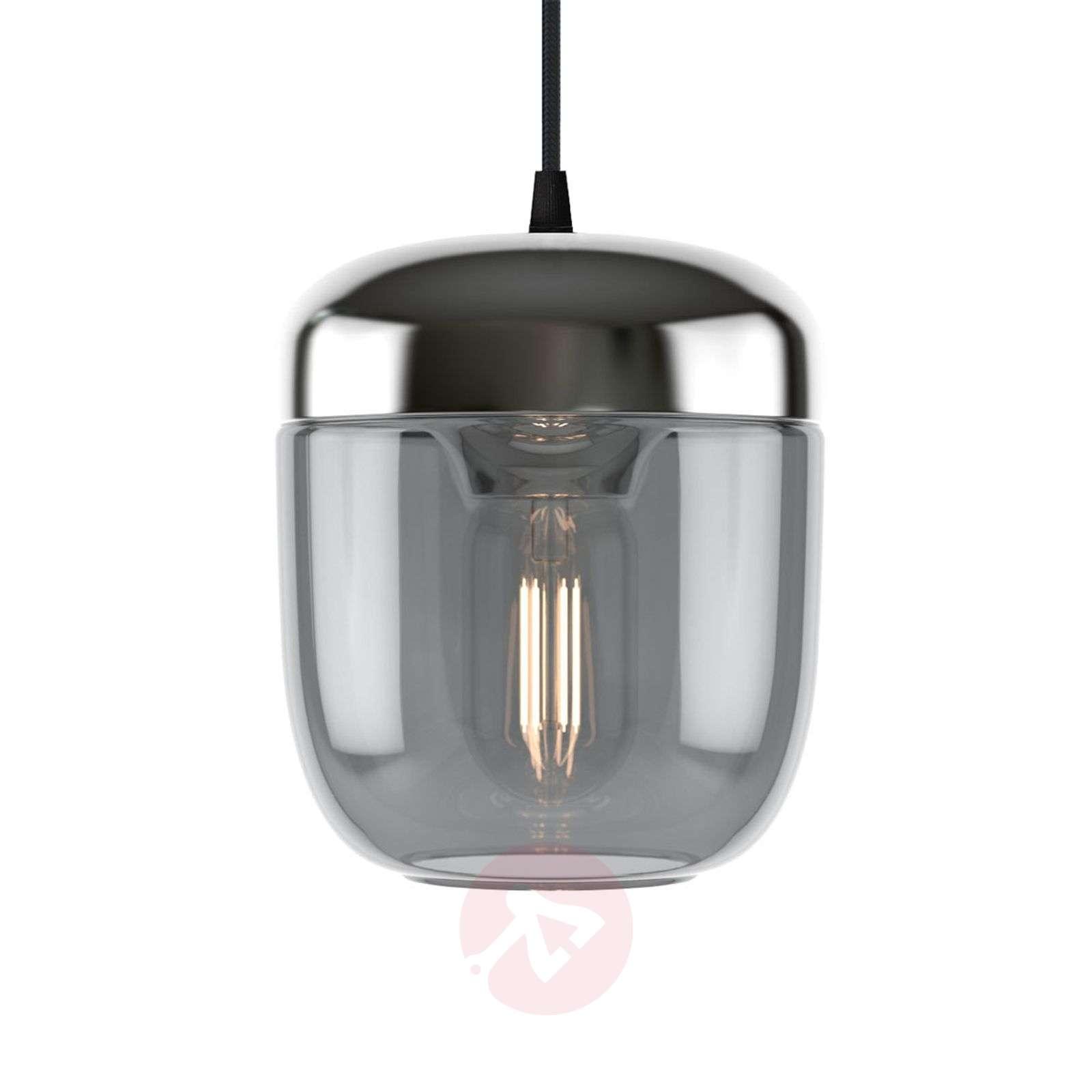 UMAGE Acorn riippuvalo 1 lamppu savunharmaa teräs-9521219-01