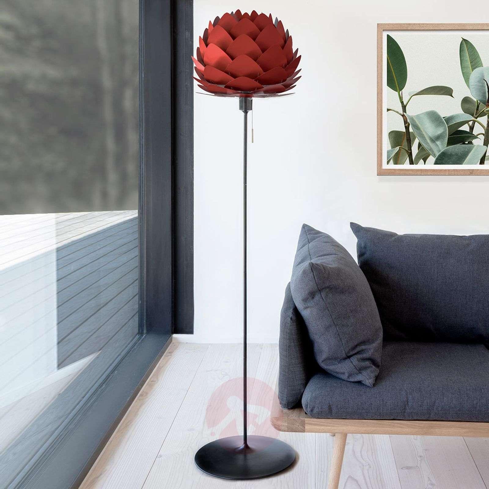 UMAGE Aluvia mini lattiavalaisin rubiinin punainen-9521185-01